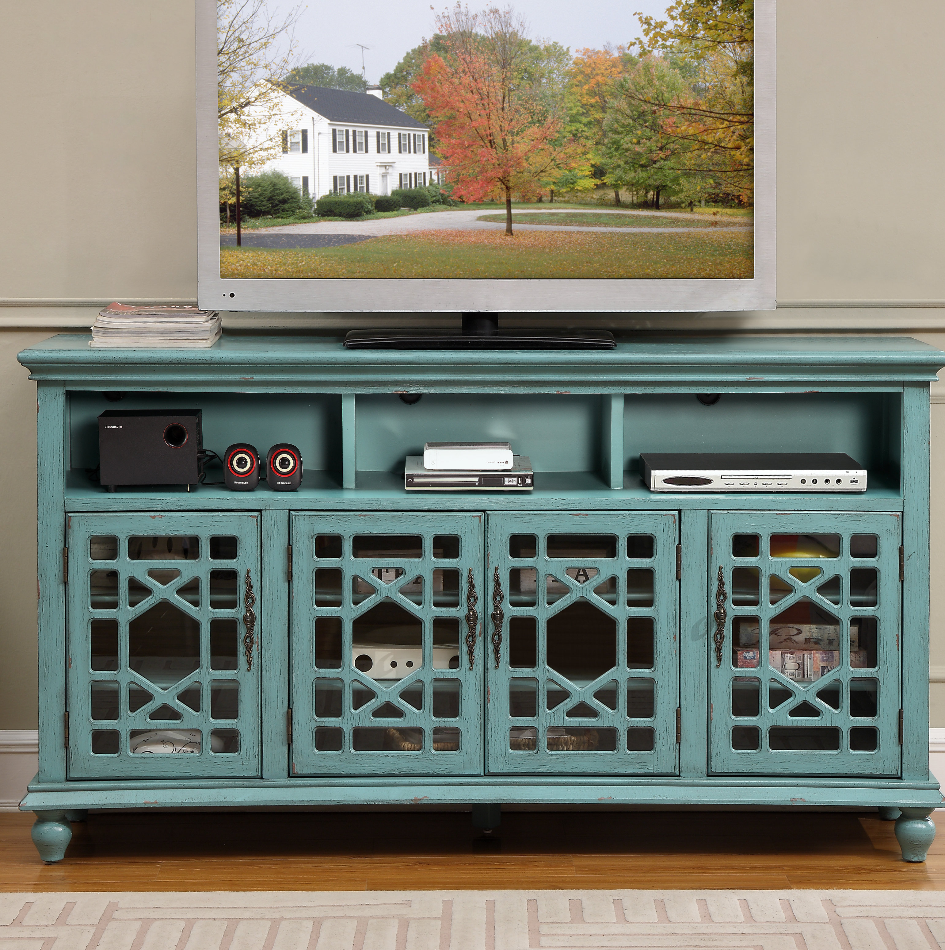 Farmhouse & Rustic Solid Wood Sideboards & Buffets | Birch Lane with Chaffins Sideboards (Image 21 of 30)