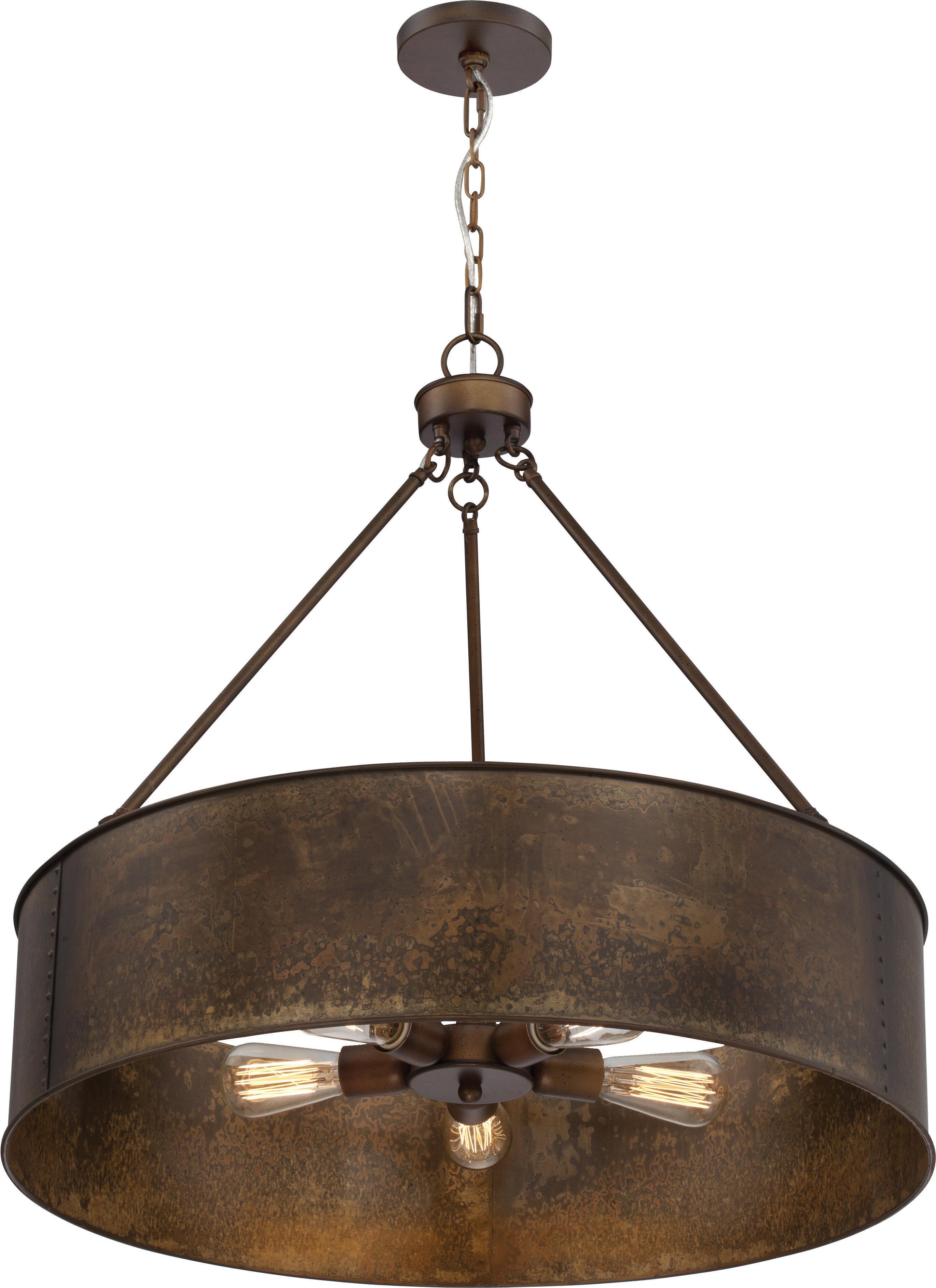 Farmhouse & Rustic Trent Austin Design Pendants | Birch Lane Regarding Irwin 1 Light Single Globe Pendants (View 10 of 30)