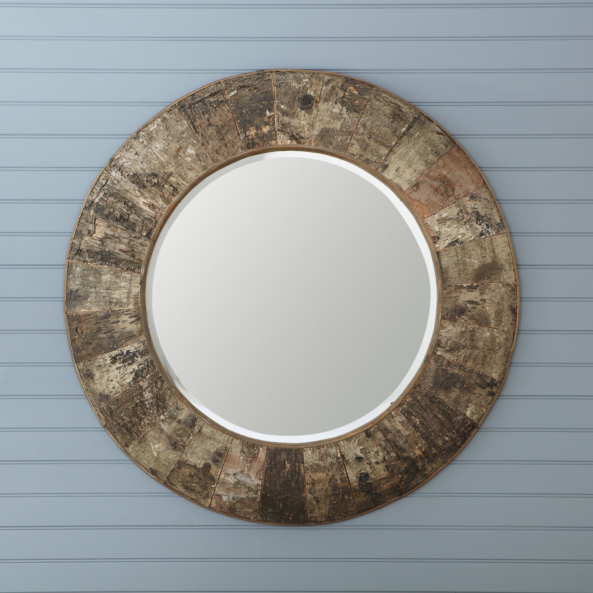 Farmhouse & Rustic Williston Forge Wall & Accent Mirrors for Koeller Industrial Metal Wall Mirrors (Image 7 of 30)