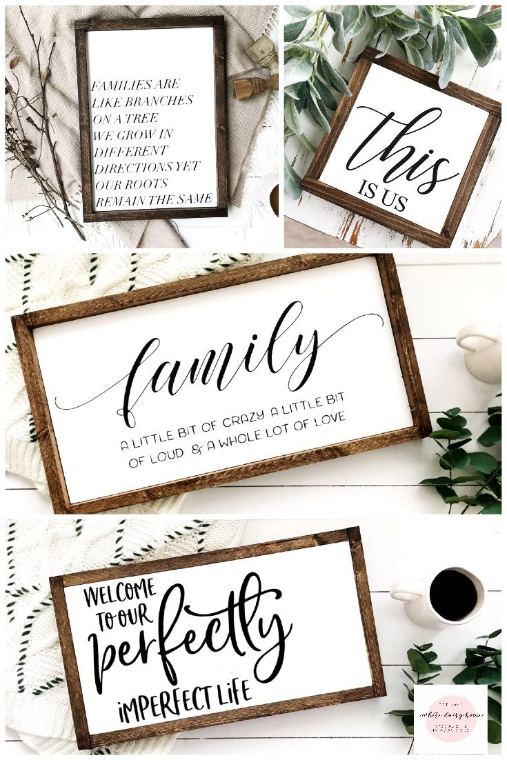 Farmhouse Signs, Family Signs, This Is Us Sign, Farmhouse Regarding Tree Welcome Sign Wall Decor (View 4 of 30)