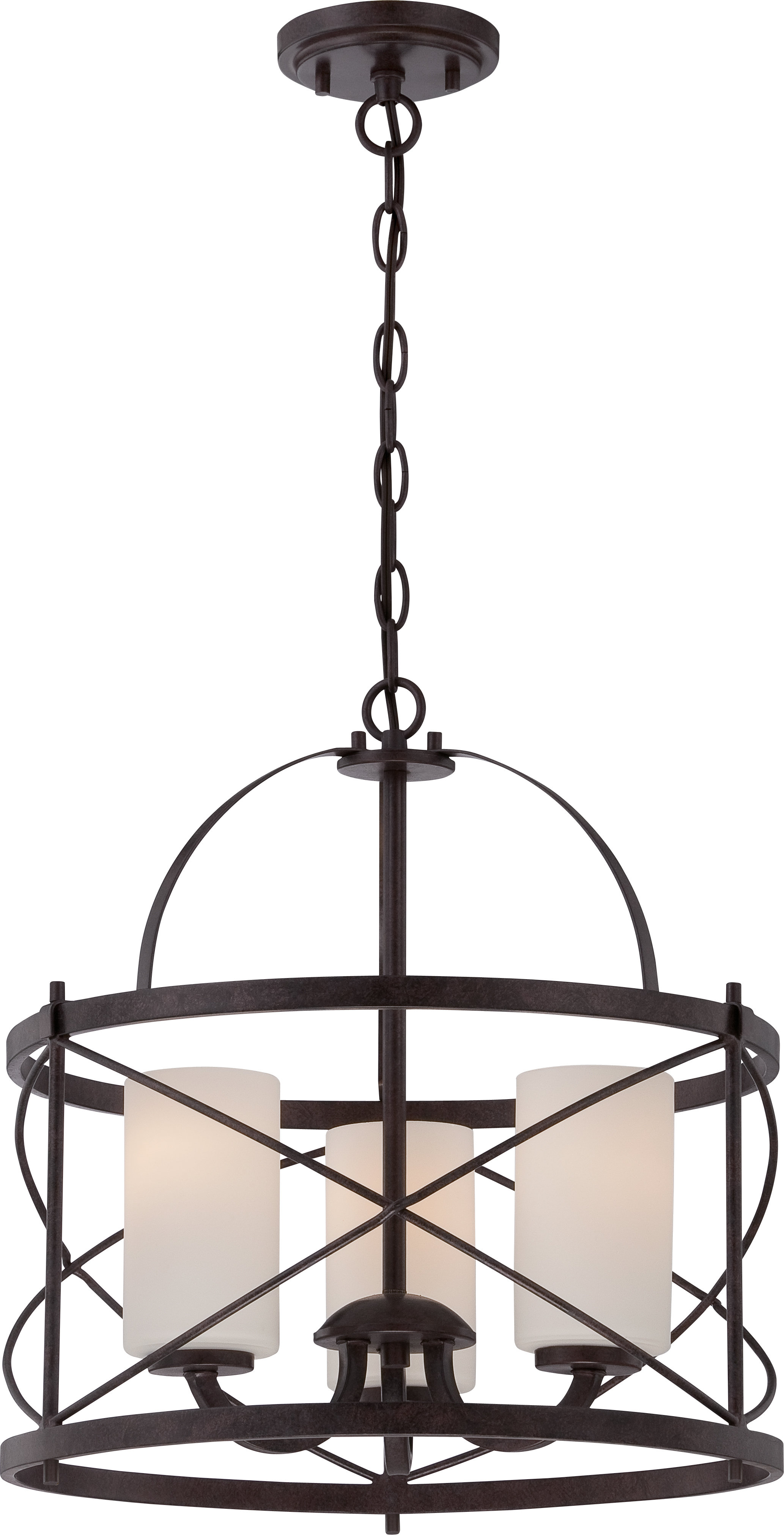 Farrier 3 Light Lantern Drum Pendant With Armande 4 Light Lantern Drum Pendants (View 20 of 30)
