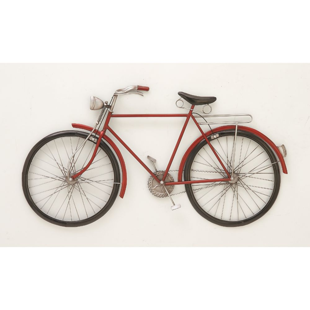 Fashionable Metal Red Bike Wall Decor For Bike Wall Decor (View 8 of 30)