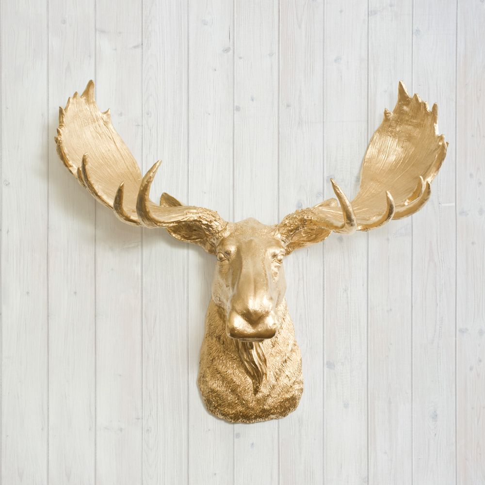Faux Moose Head | The Albertawall Charmers™ Fake intended for Atlantis Faux Taxidermy Wall Decor (Image 8 of 30)
