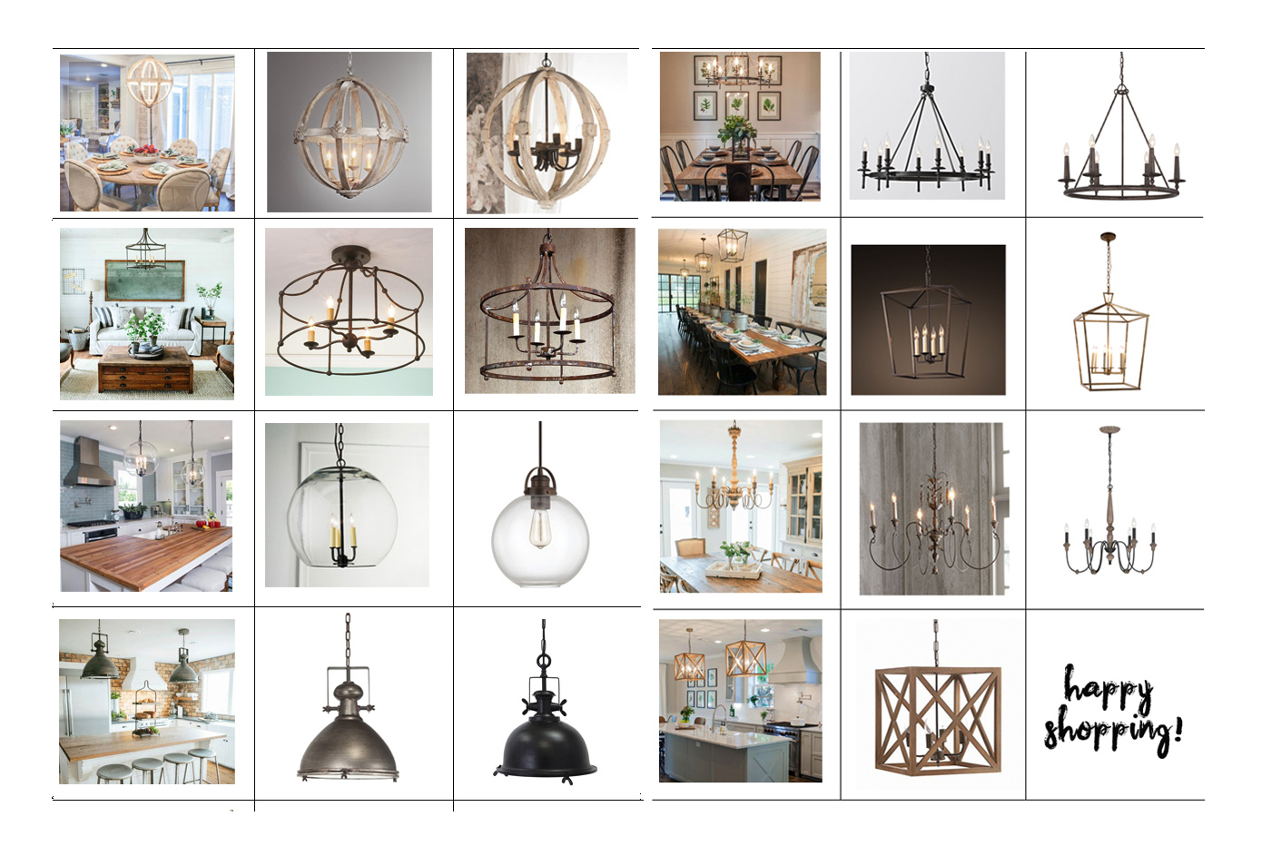 Favorite Light Fixtures For Fixer Upper Style   The Harper House For Gaines 5 Light Shaded Chandeliers (View 20 of 30)