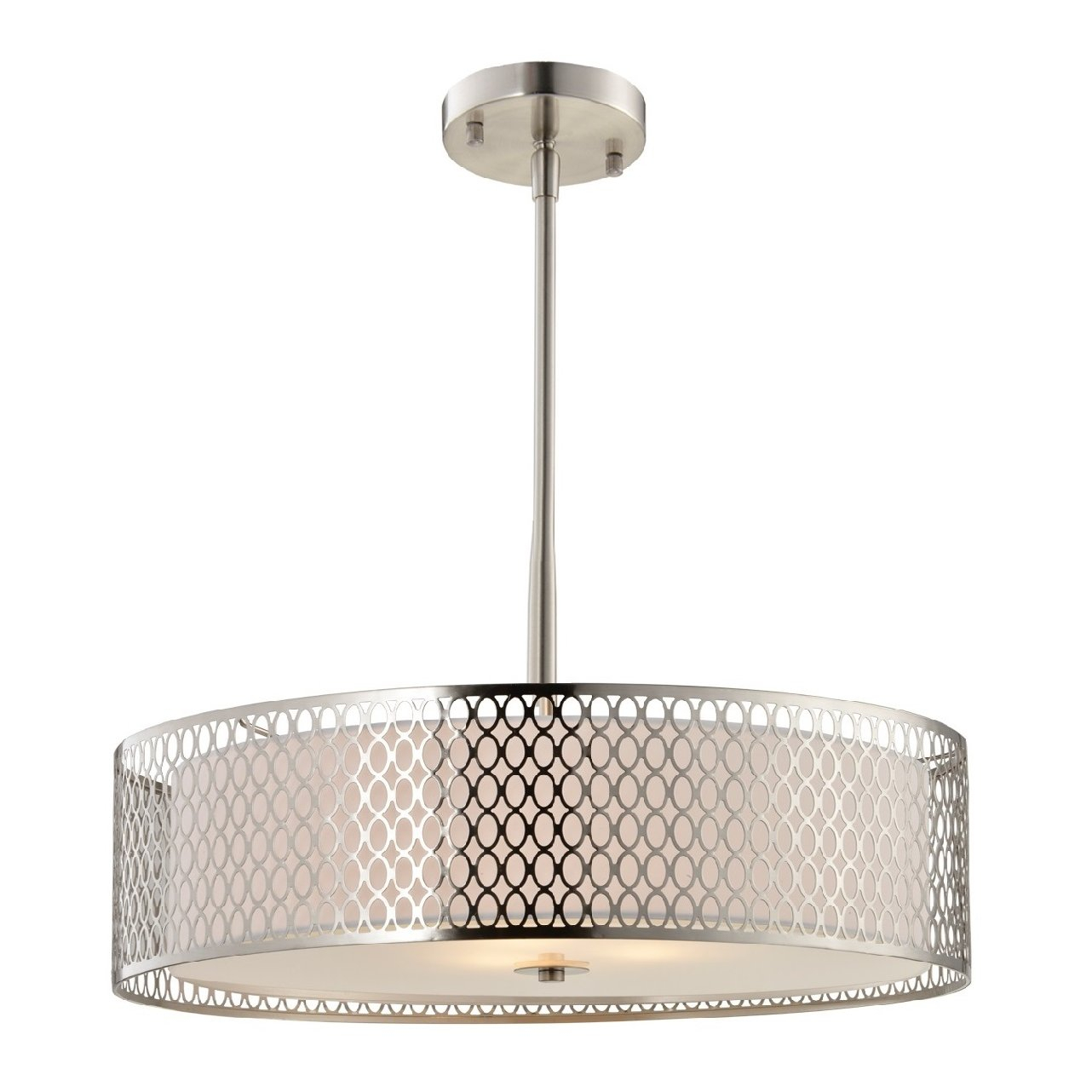 Ferrigno 3-Light Drum Chandelier with regard to Montes 3-Light Drum Chandeliers (Image 8 of 30)