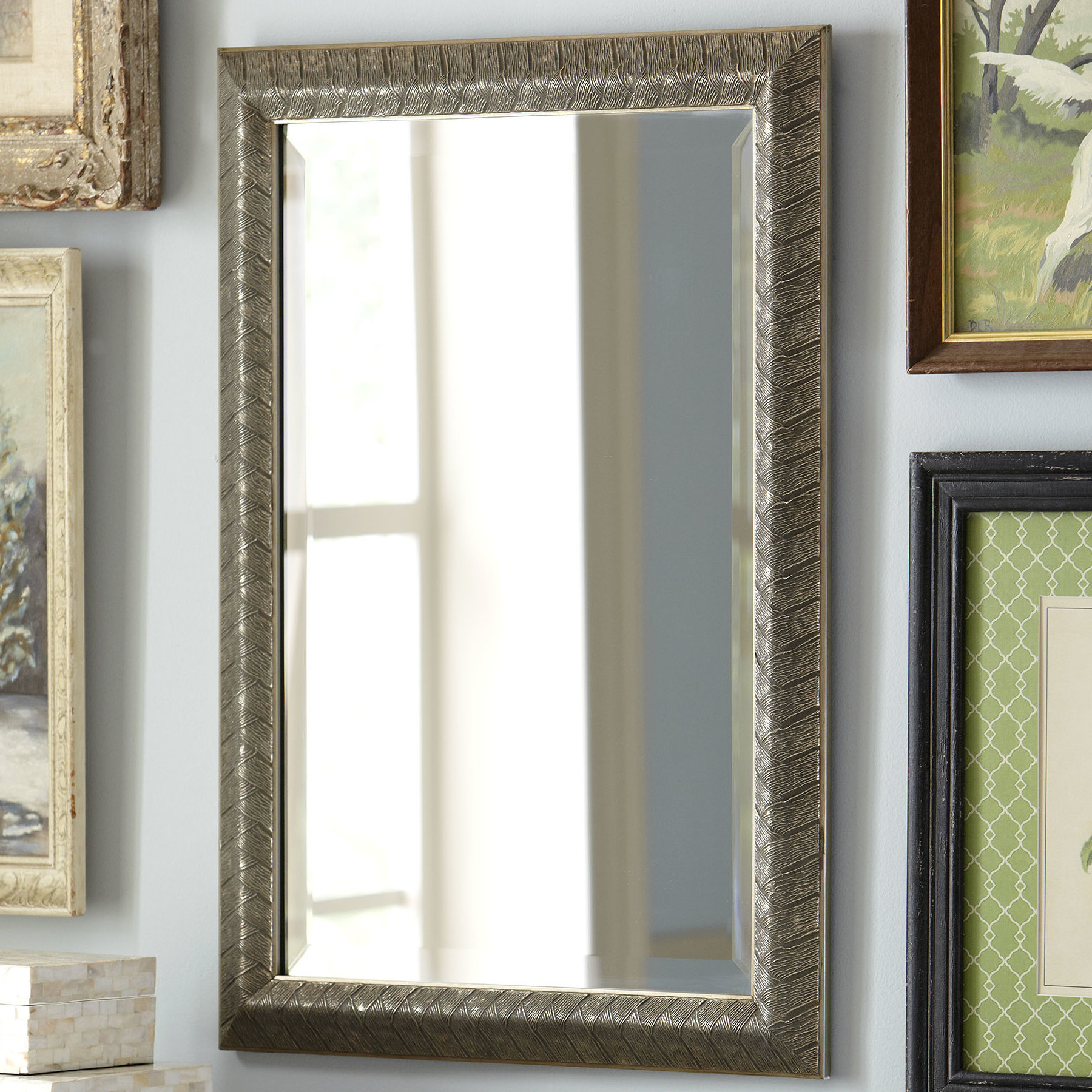 Filippa Accent Mirror Pertaining To Epinal Shabby Elegance Wall Mirrors (View 13 of 30)