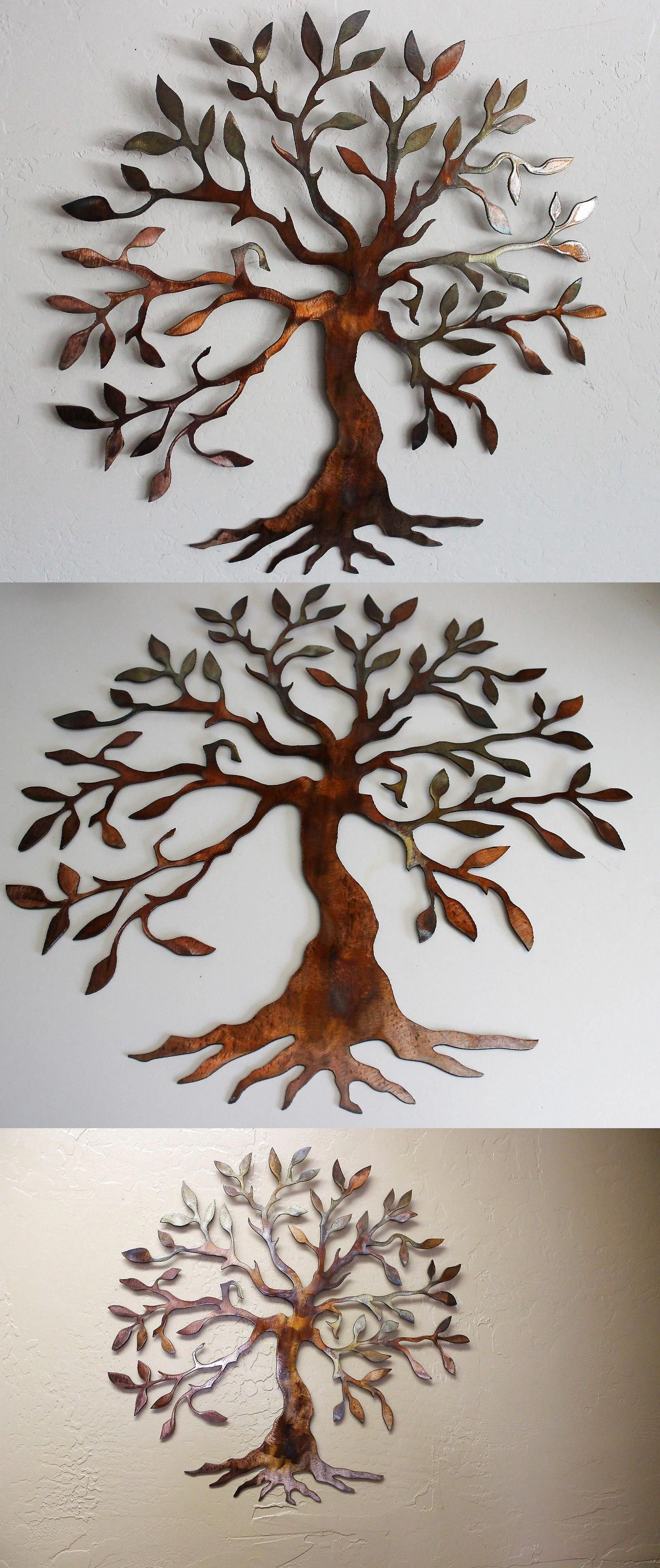 """Find Out Additional Relevant Information On """"metal Tree Wall Intended For Olive/gray Metal Wall Decor (View 9 of 30)"""