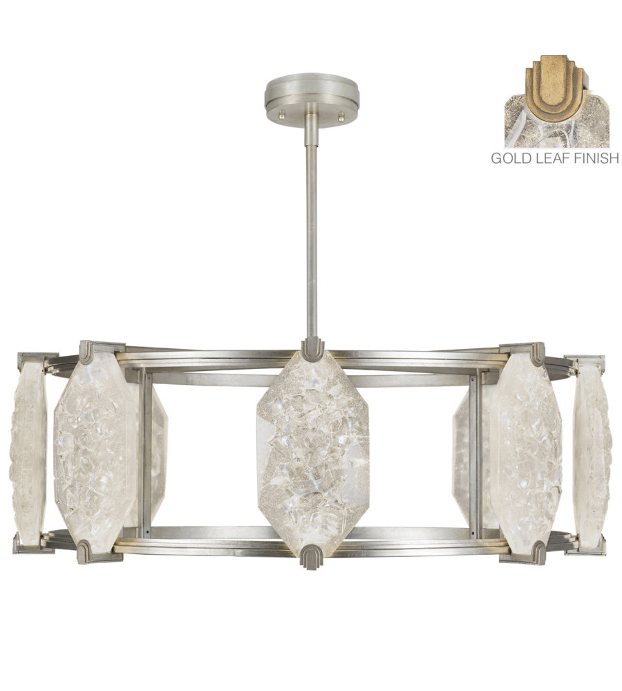 Fine Art Lamps 872840 21st Allison Paladino 16 Light Pendant In Gold Intended For Paladino 6 Light Chandeliers (View 11 of 30)