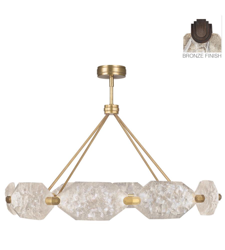 Fine Art Lamps 873040 31st Allison Paladino 20 Light Pendant In Bronze Inside Paladino 6 Light Chandeliers (View 15 of 30)