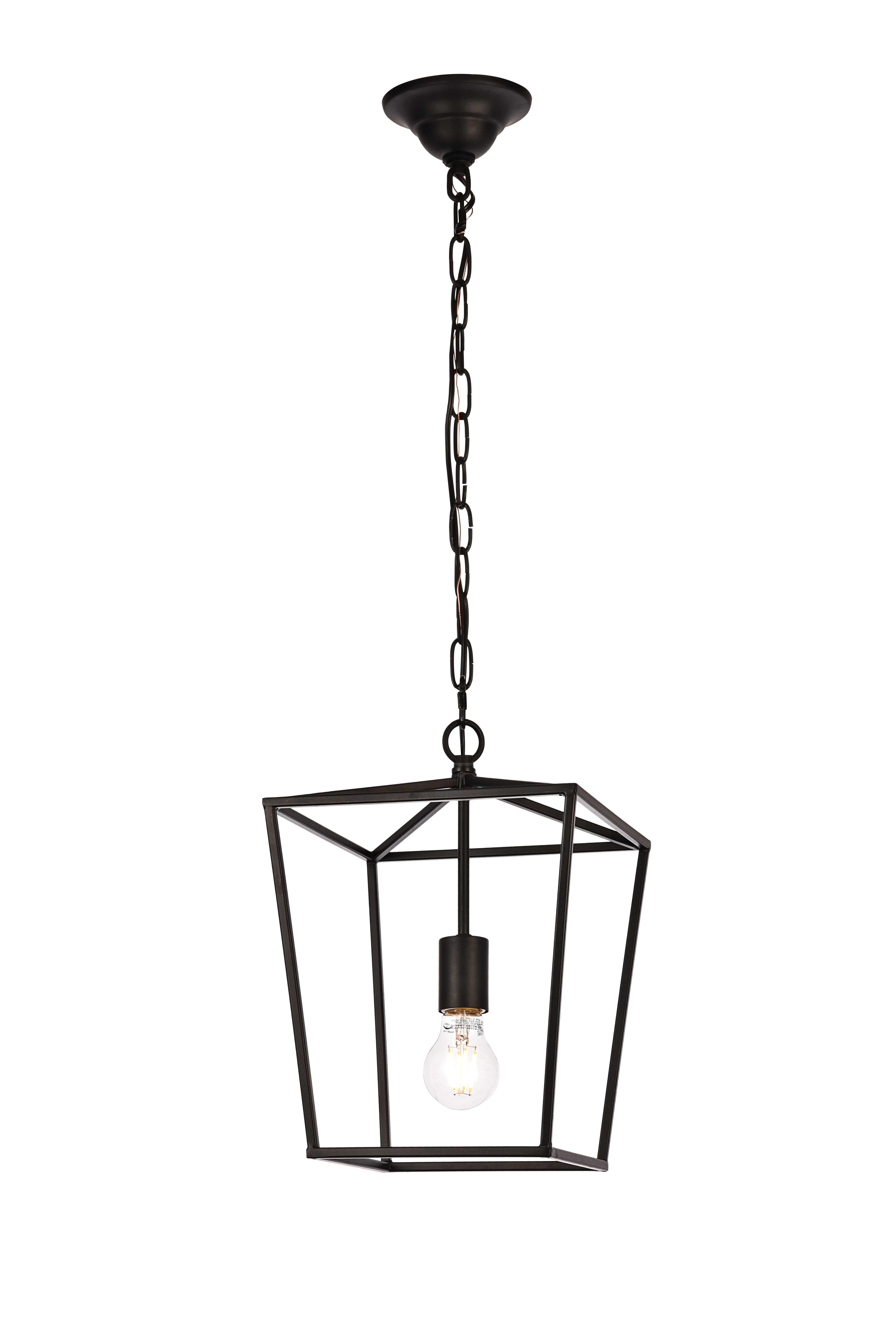Finnick 1 Light Geometric Pendant With Regard To Finnick 4 Light Foyer Pendants (View 23 of 30)