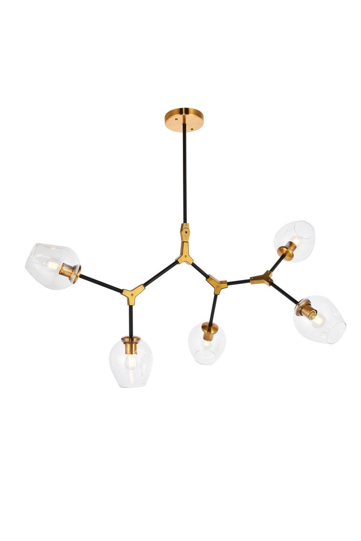 Five Light Pendant within Johanne 6-Light Sputnik Chandeliers (Image 9 of 30)