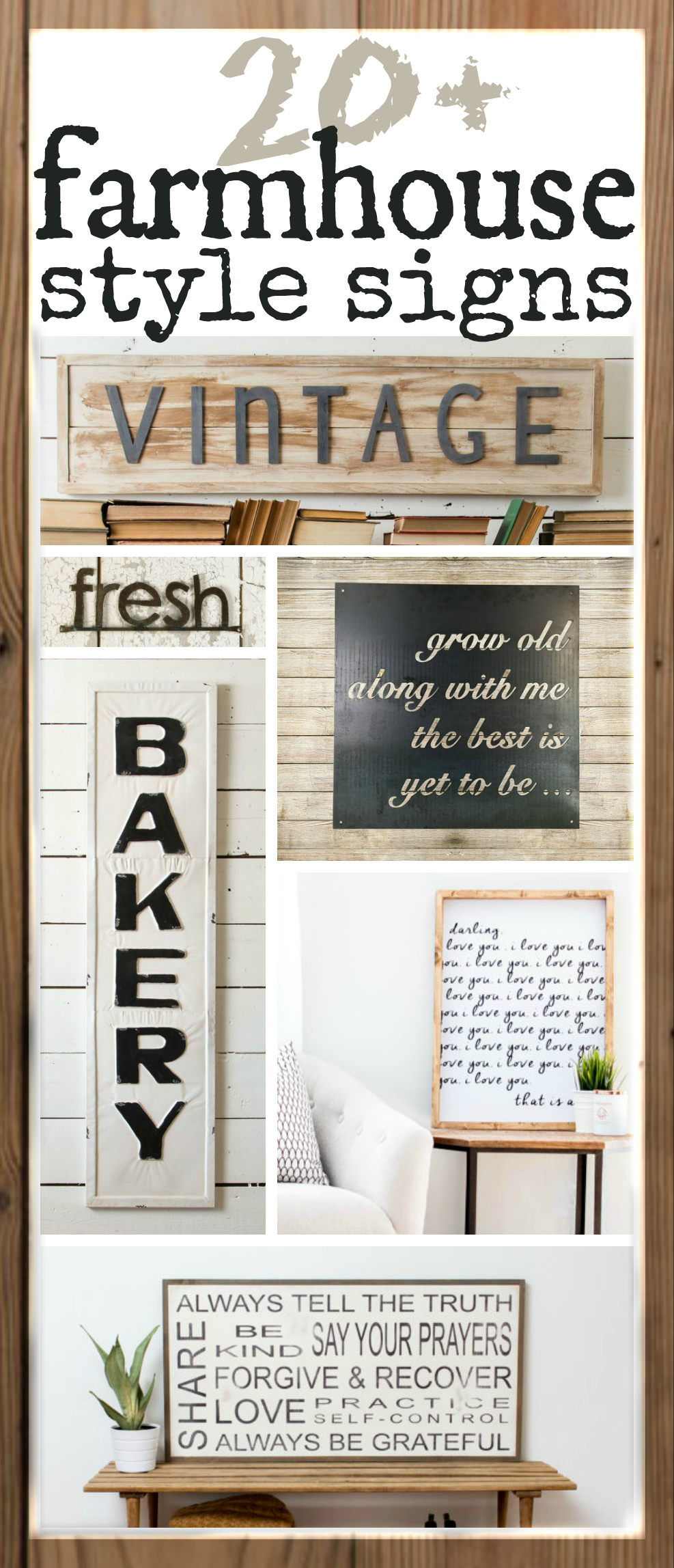 Fixer Upper Inspired Farmhouse Signs You Can Buy Online With Regard To Personalized Distressed Vintage Look Kitchen Metal Sign Wall Decor (View 12 of 30)