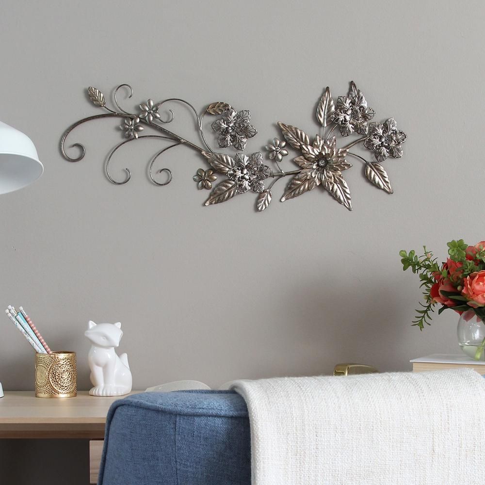 Floral River Bend Metal Wall Decor | Products | Plate Wall in Multi Plates Wall Decor (Image 5 of 30)