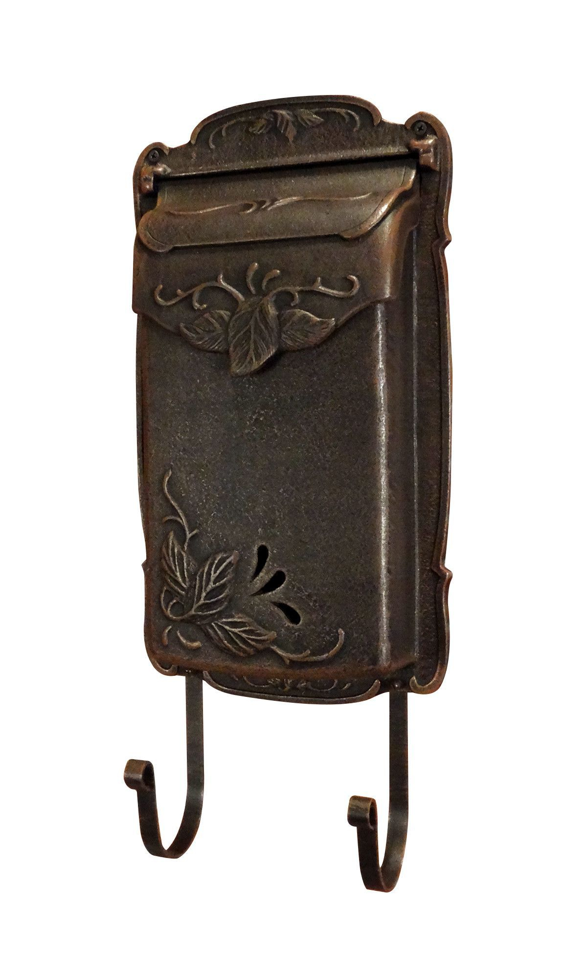 Floral Vertical Wall Mounted Mailbox   Mieszkania   Wall Intended For Lacordaire Wall Mounted Mailbox (View 9 of 30)