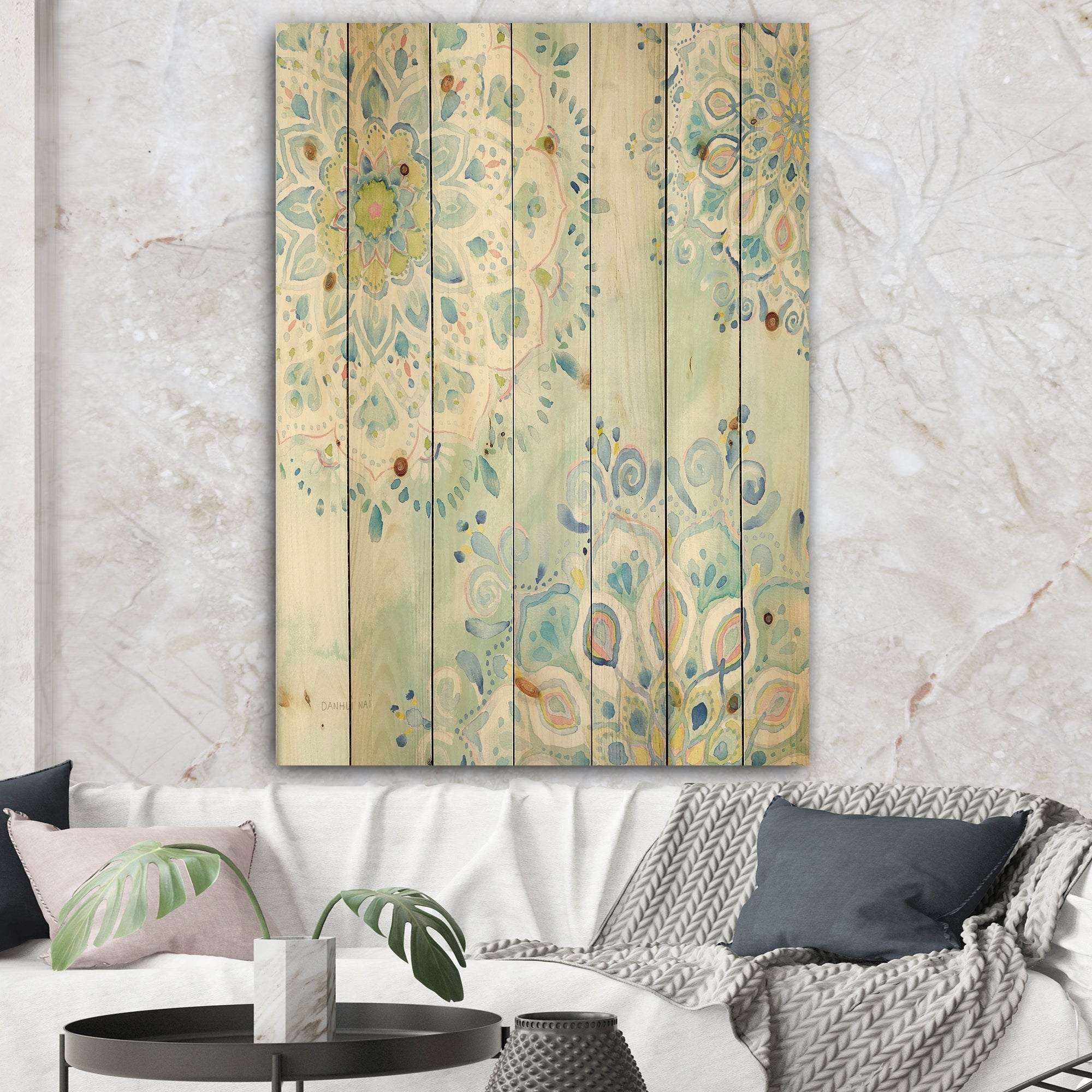 Floral Wood Wall Art | Find Great Art Gallery Deals Shopping Pertaining To 3 Piece Magnolia Brown Panel Wall Decor Sets (View 19 of 30)