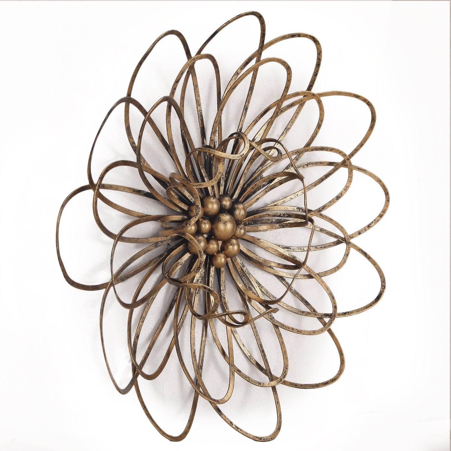 Flower Urban Design Metal Wall Decor regarding Flower Urban Design Metal Wall Decor (Image 15 of 30)