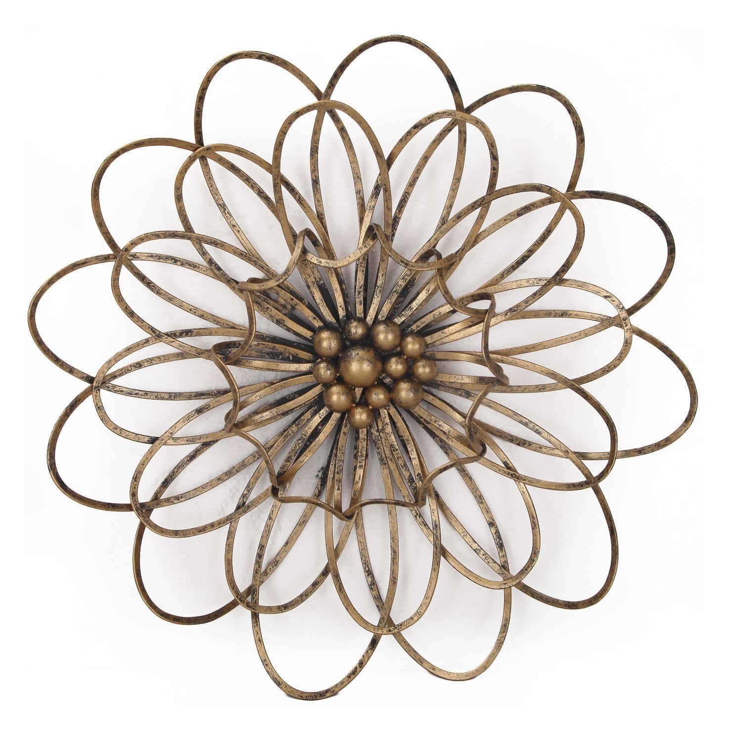 Flower Urban Design Metal Wall Decor within Flower Urban Design Metal Wall Decor (Image 16 of 30)