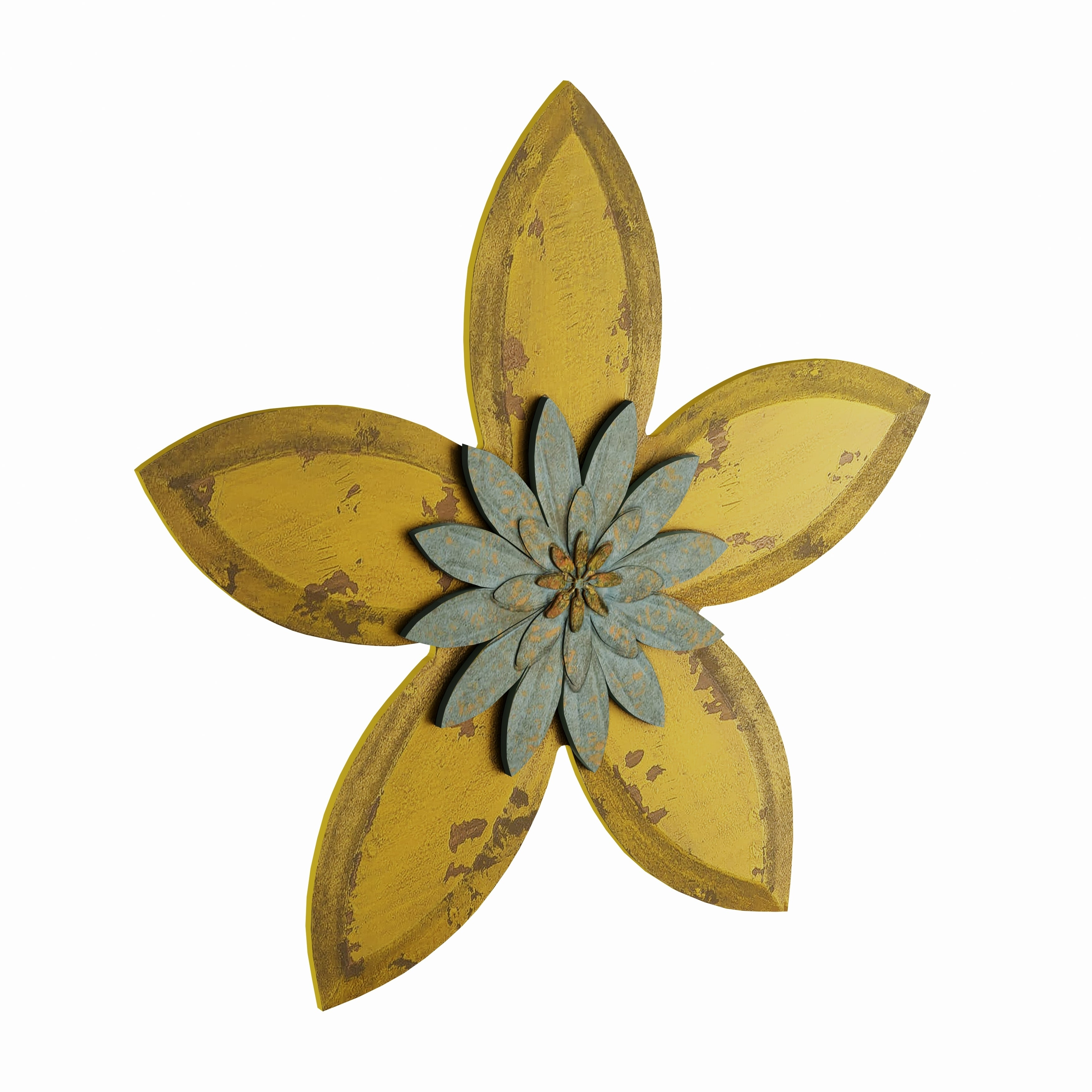 Flower Wall Decor Metal – Flowers Healthy Regarding Raheem Flowers Metal Wall Decor By Alcott Hill (View 7 of 30)