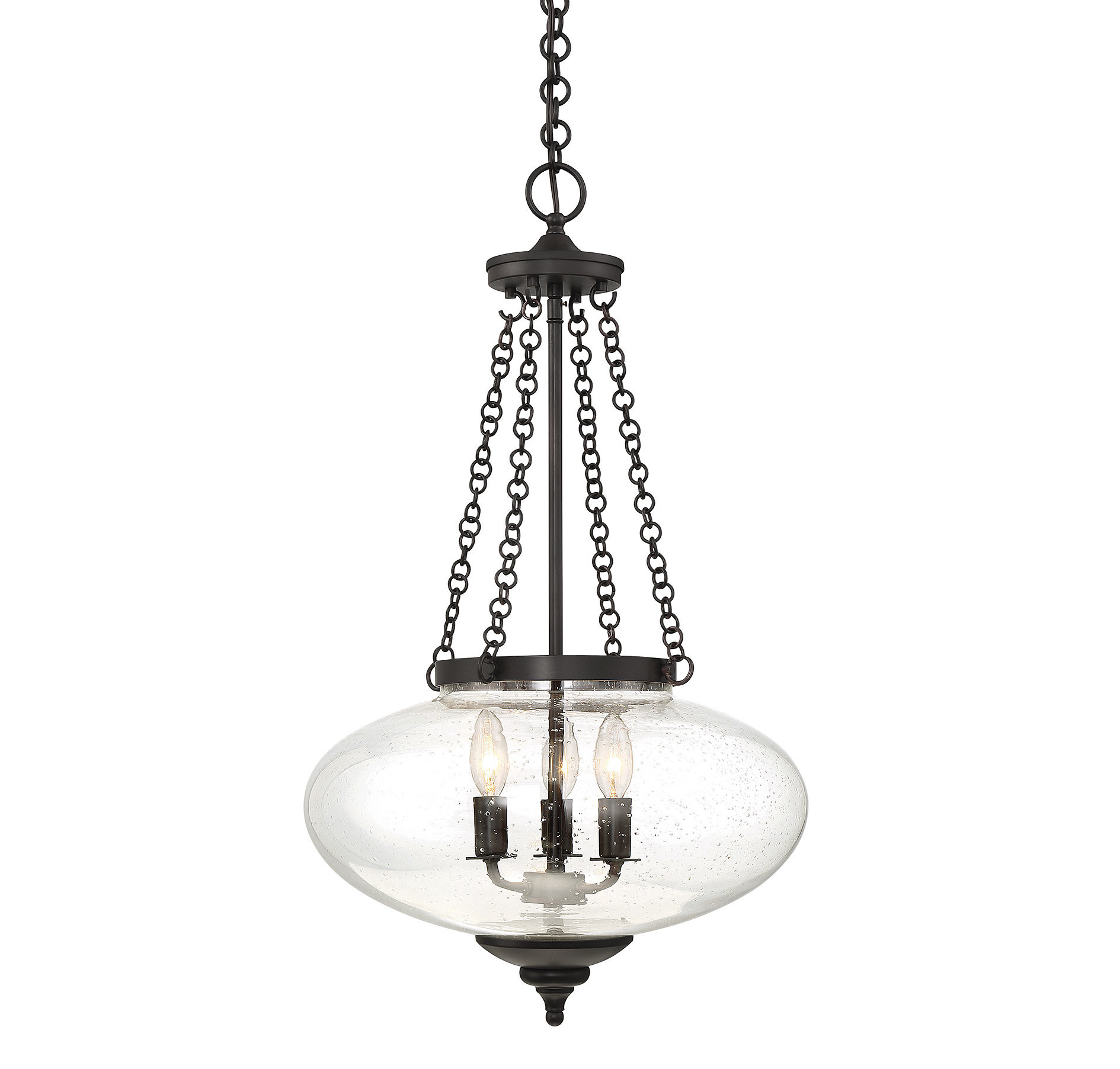 Fortunat 3-Light Urn Pendant regarding Spokane 1-Light Single Urn Pendants (Image 17 of 30)