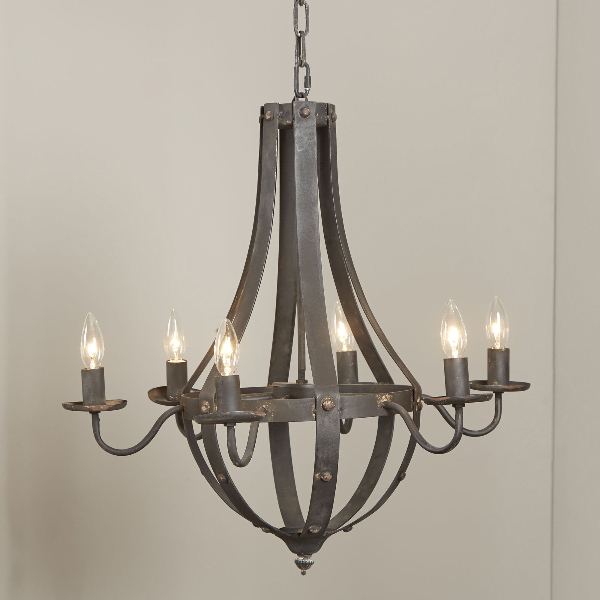 Foulds 6 Light Empire Chandelier With Shaylee 6 Light Candle Style Chandeliers (View 10 of 30)