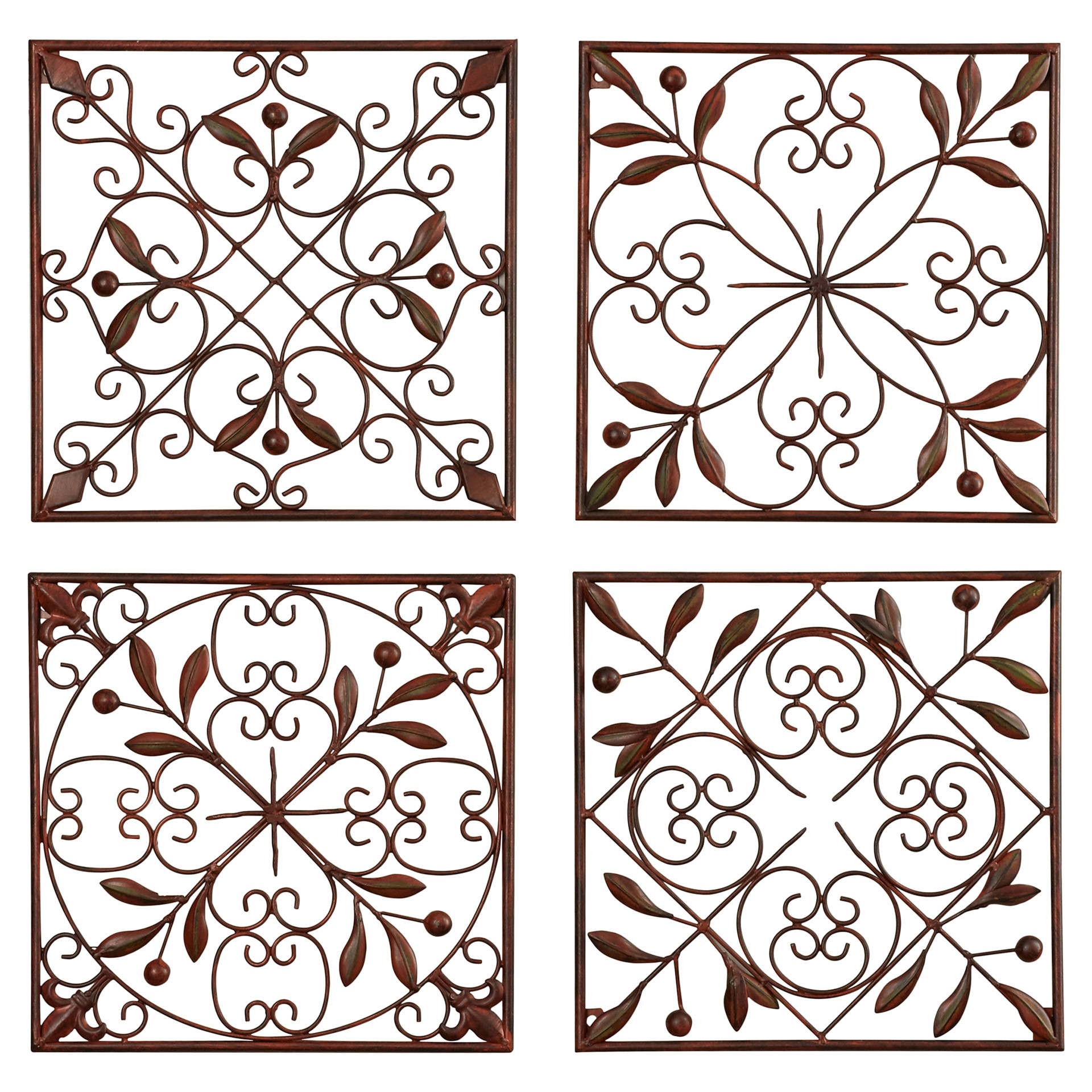 Four Piece Wall Art – Ronniebrownlifesystems Throughout 4 Piece Metal Wall Decor Sets (View 20 of 30)
