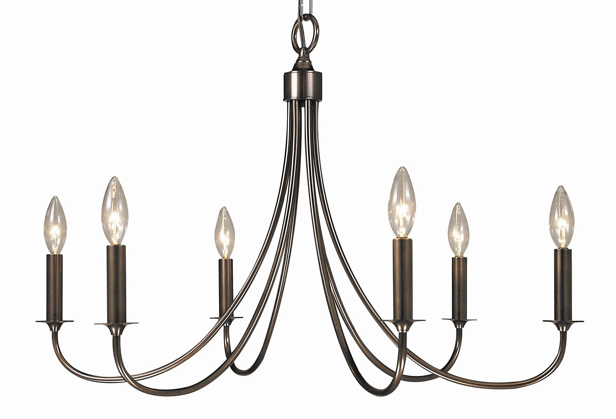 Framburg Maisonette 6 Light Dining Chandelier & Reviews Intended For Giverny 9 Light Candle Style Chandeliers (View 22 of 30)