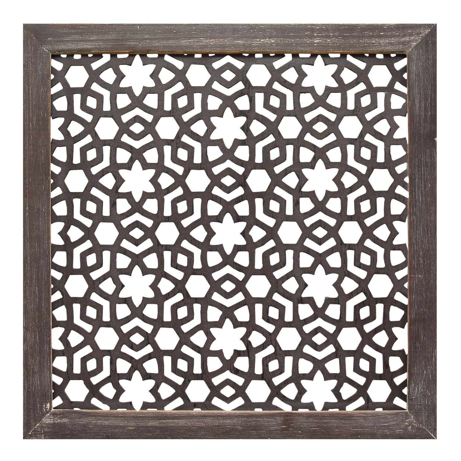 Framed Laser-Cut Wall Décor with regard to Desford Leaf Wall Decor (Image 14 of 30)