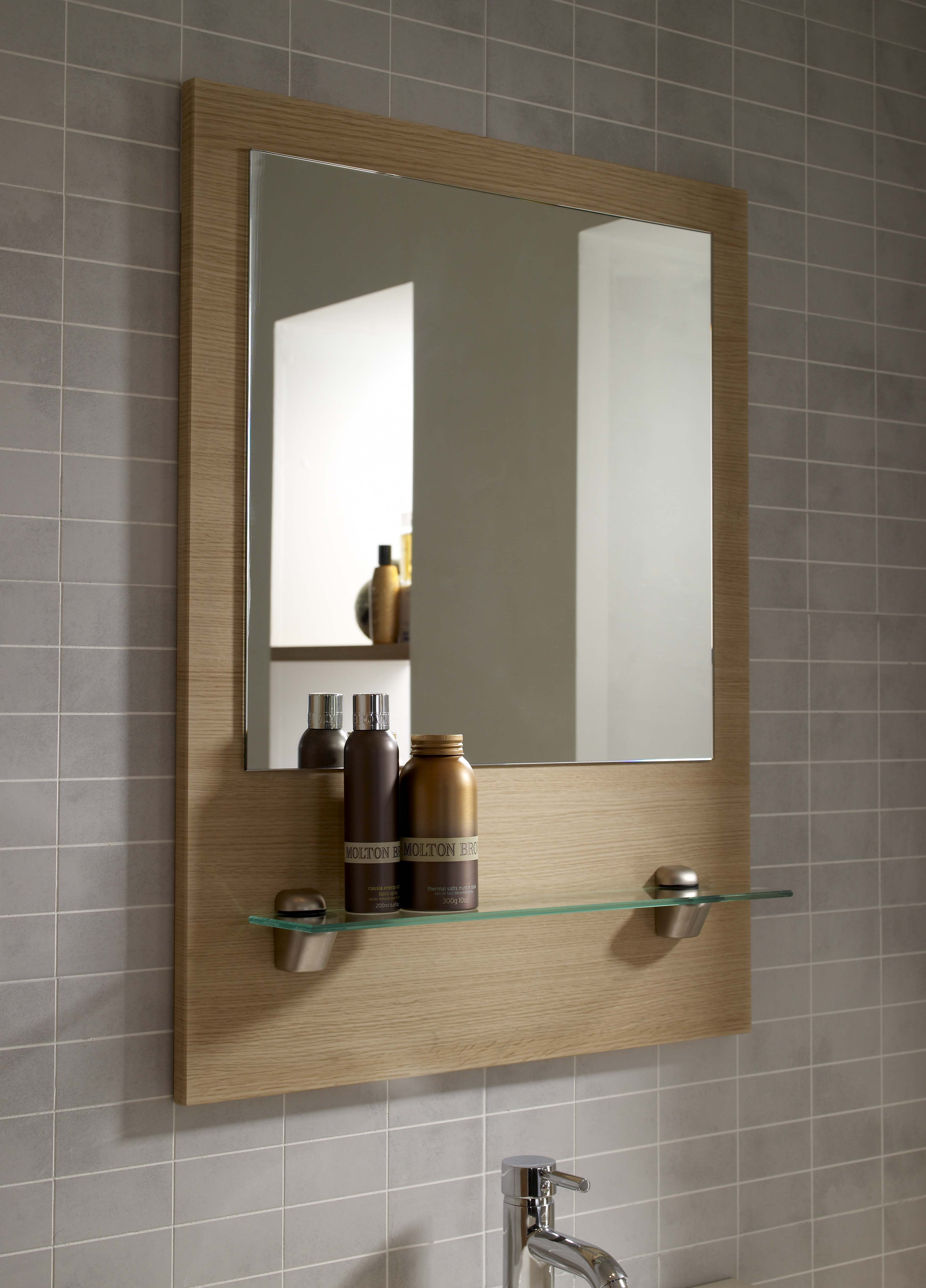 Framed Modern Mirror Metal Framed Peetz Modern Rustic Accent intended for Peetz Modern Rustic Accent Mirrors (Image 12 of 30)