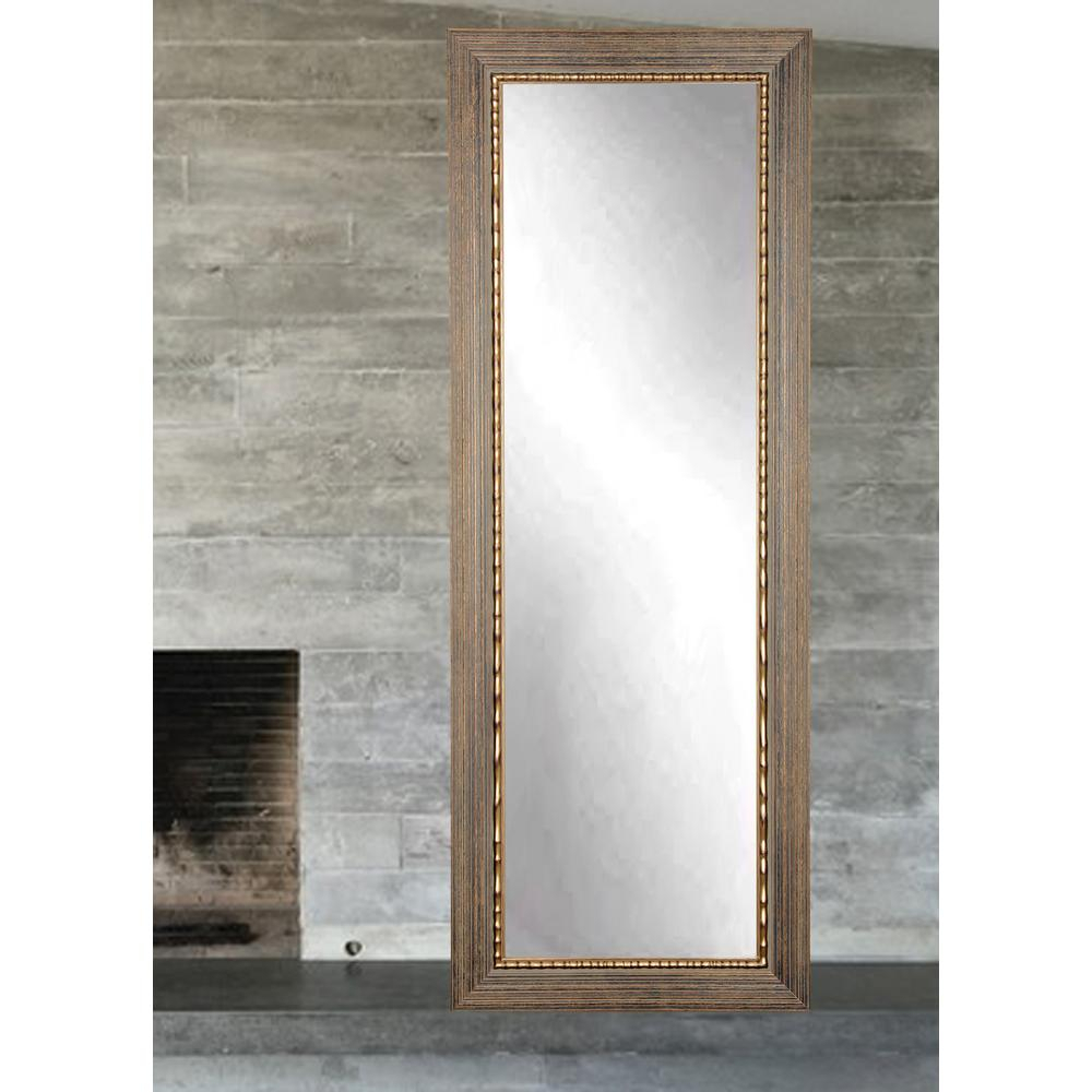 Framed Modern Mirror Metal Framed Peetz Modern Rustic Accent Regarding Peetz Modern Rustic Accent Mirrors (View 13 of 30)