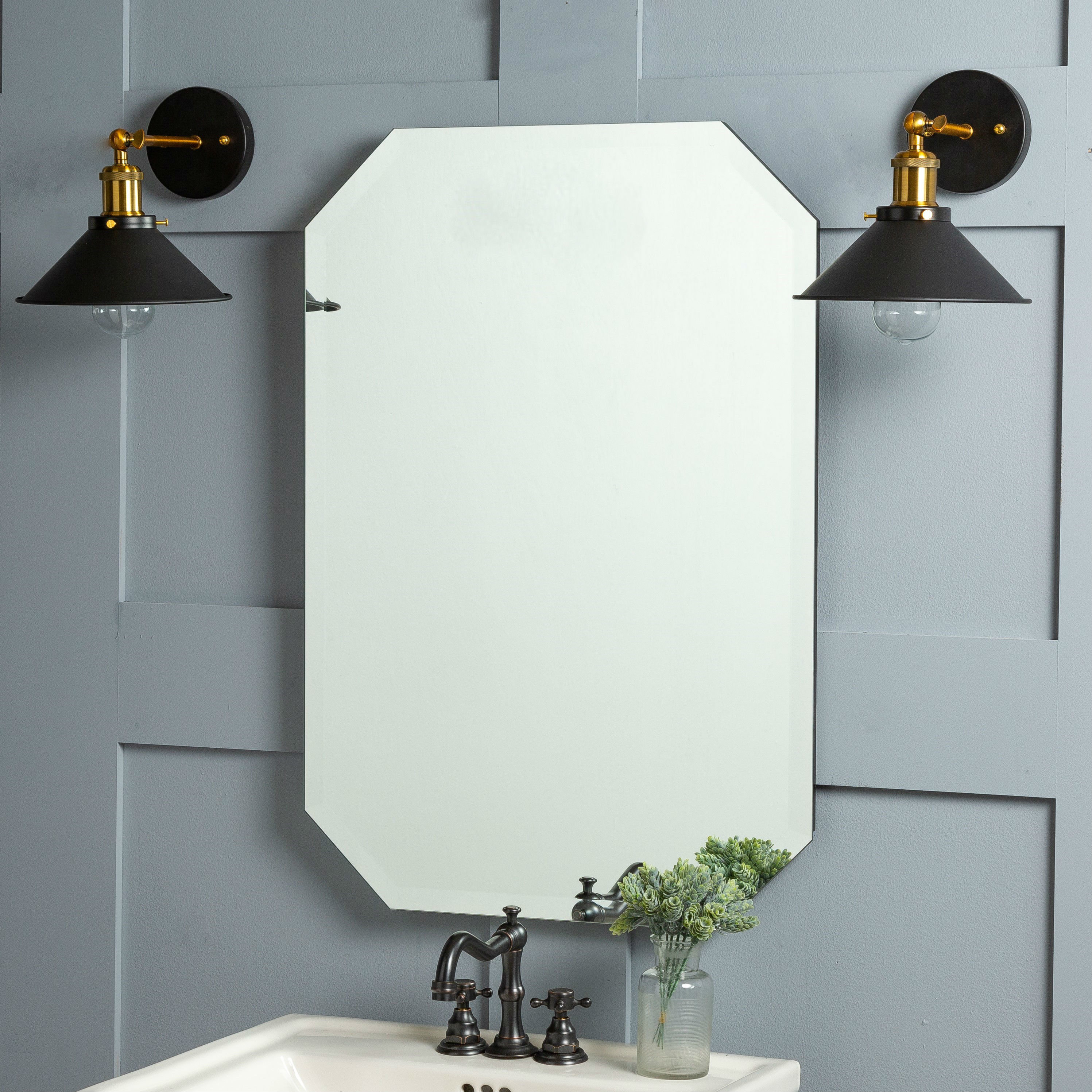Frameless Wall Mirrors | Joss & Main With Kayden Accent Mirrors (View 22 of 30)