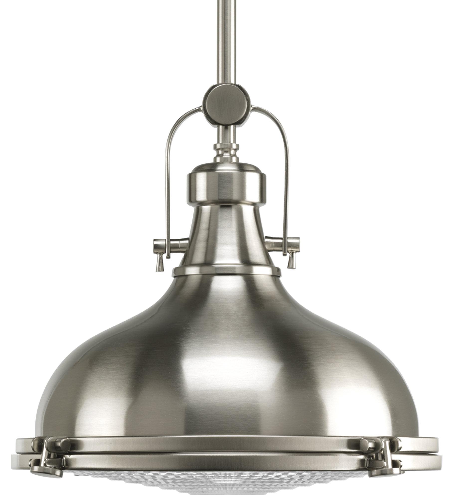 Freeda 1 Light Single Dome Pendant With Regard To Mueller 1 Light Single Dome Pendants (View 13 of 30)