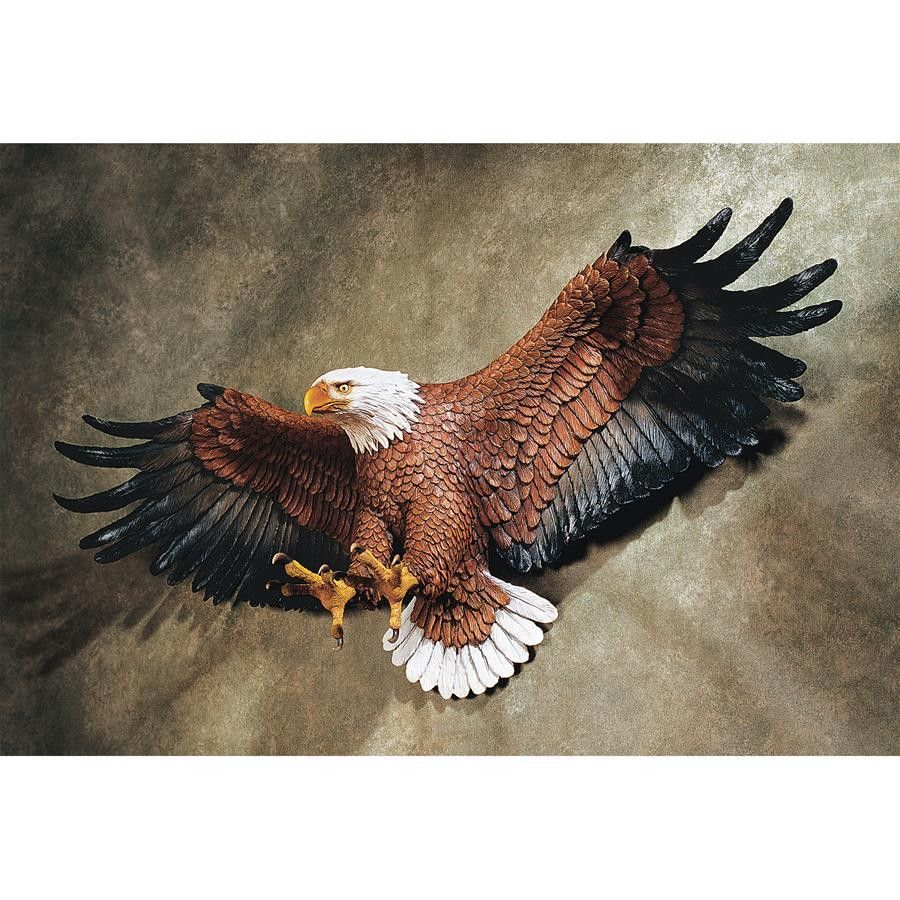 Freedom's Pride American Eagle Wall Sculpture | Possible for American Pride 3D Wall Decor (Image 11 of 30)