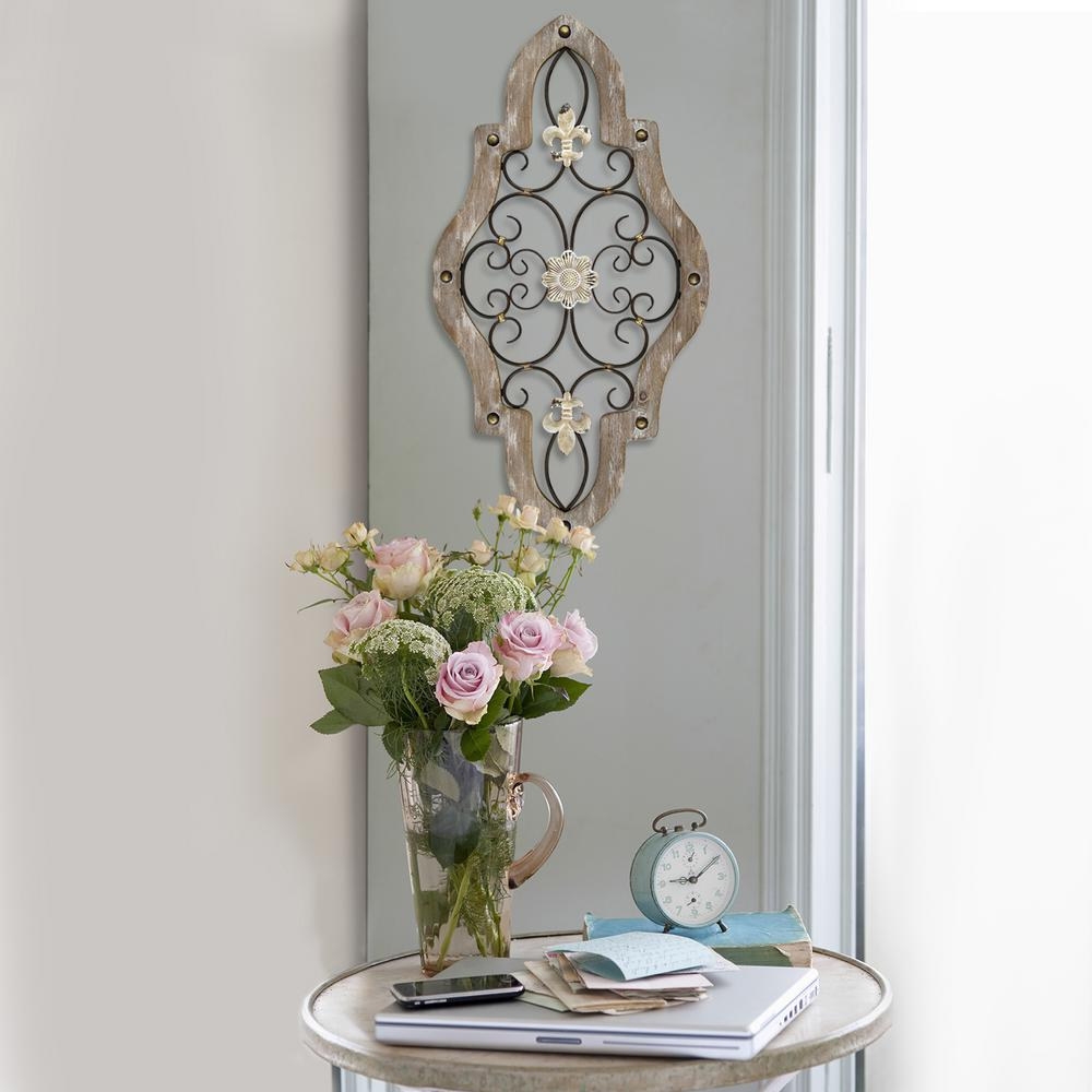 French Country Scroll Wall Decor intended for Scroll Framed Wall Decor (Image 9 of 30)