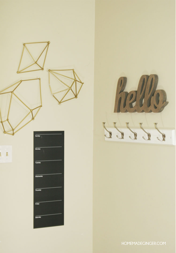 Fulgurant Make Some Diy Wall Art Using Straws To Form inside Contemporary Geometric Wall Decor (Image 12 of 30)