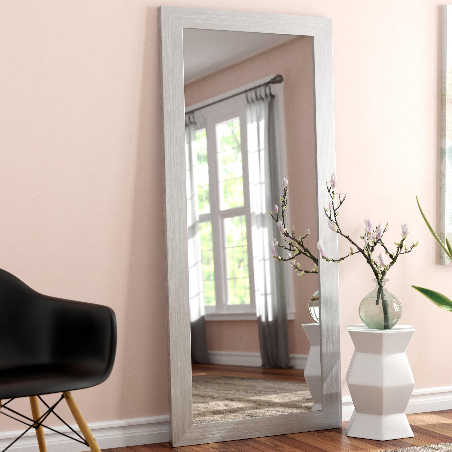 Full Body Floor Modern & Contemporary Full Length Mirror For Modern & Contemporary Full Length Mirrors (View 11 of 30)