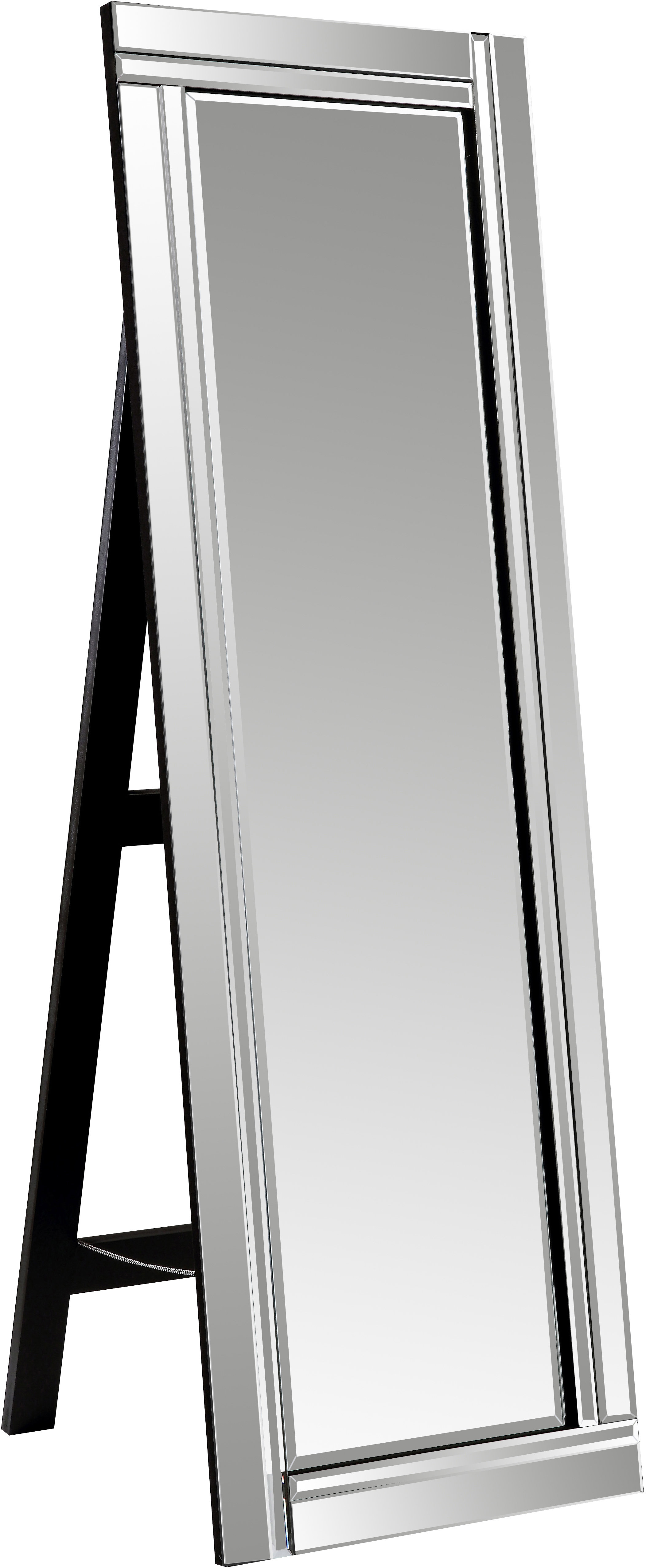 Full Length Mirror With Regard To Dalessio Wide Tall Full Length Mirrors (View 14 of 30)