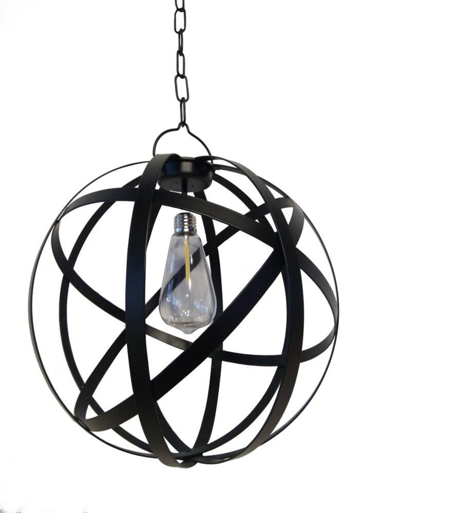 G Light Collection Led Battery Operated Outdoor Globe Gazebo Pertaining To Prange 1 Light Single Globe Pendants (View 12 of 30)