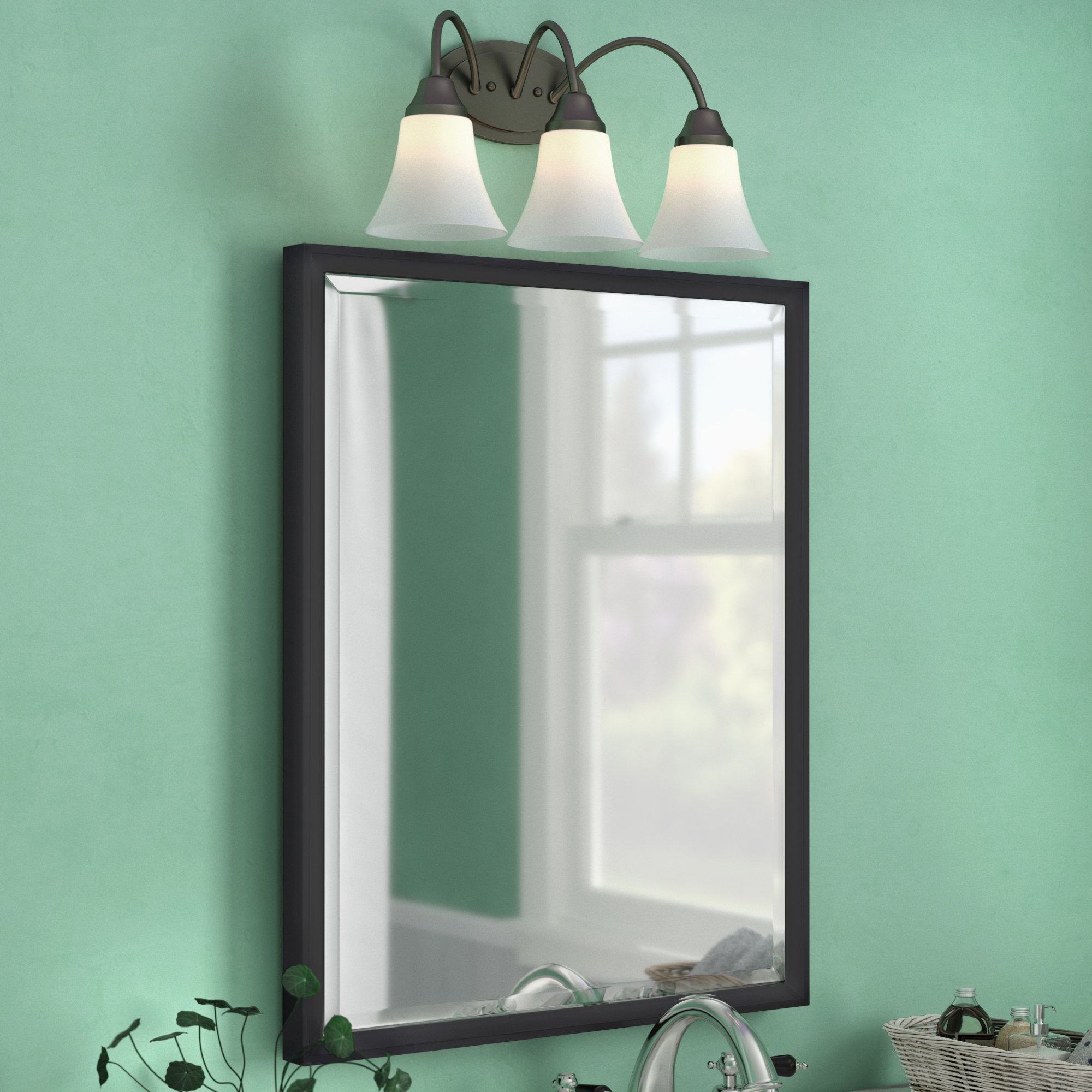Gatsby Decorative Traditional Beveled Accent Mirror With Traditional Beveled Accent Mirrors (View 16 of 30)