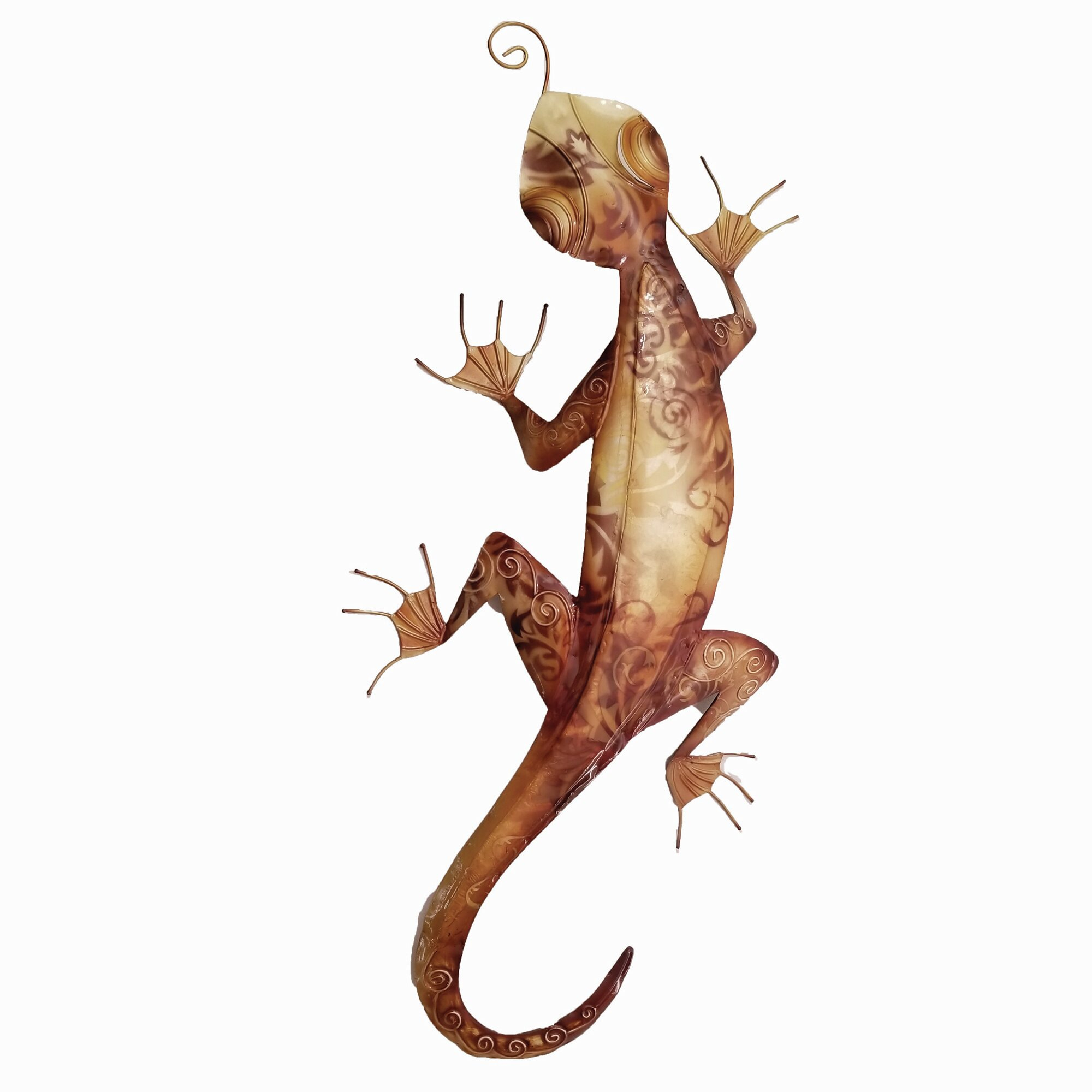 Gecko Wall Décor Pertaining To Gecko Wall Decor (View 4 of 30)