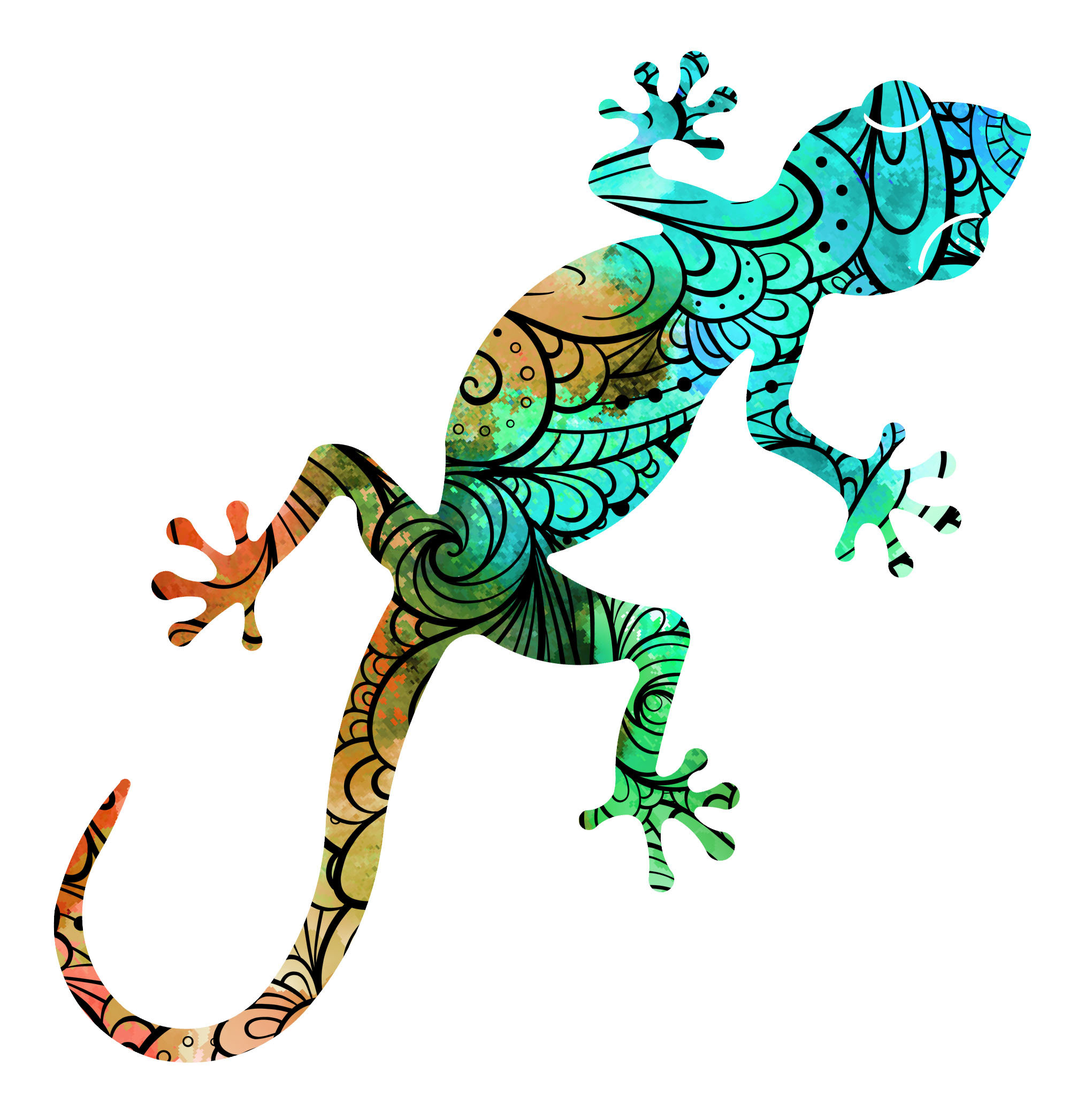 Gecko Wall Décor With Gecko Wall Decor (View 7 of 30)