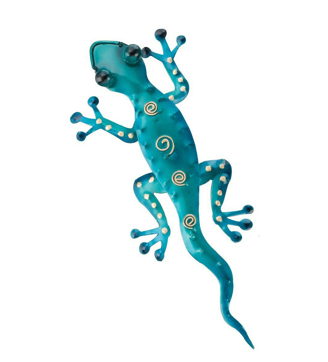 Gecko Wall Hang Decor Figurine Sculpture Patio Yard Home Office Porch Fence Art For Gecko Wall Decor (View 19 of 30)
