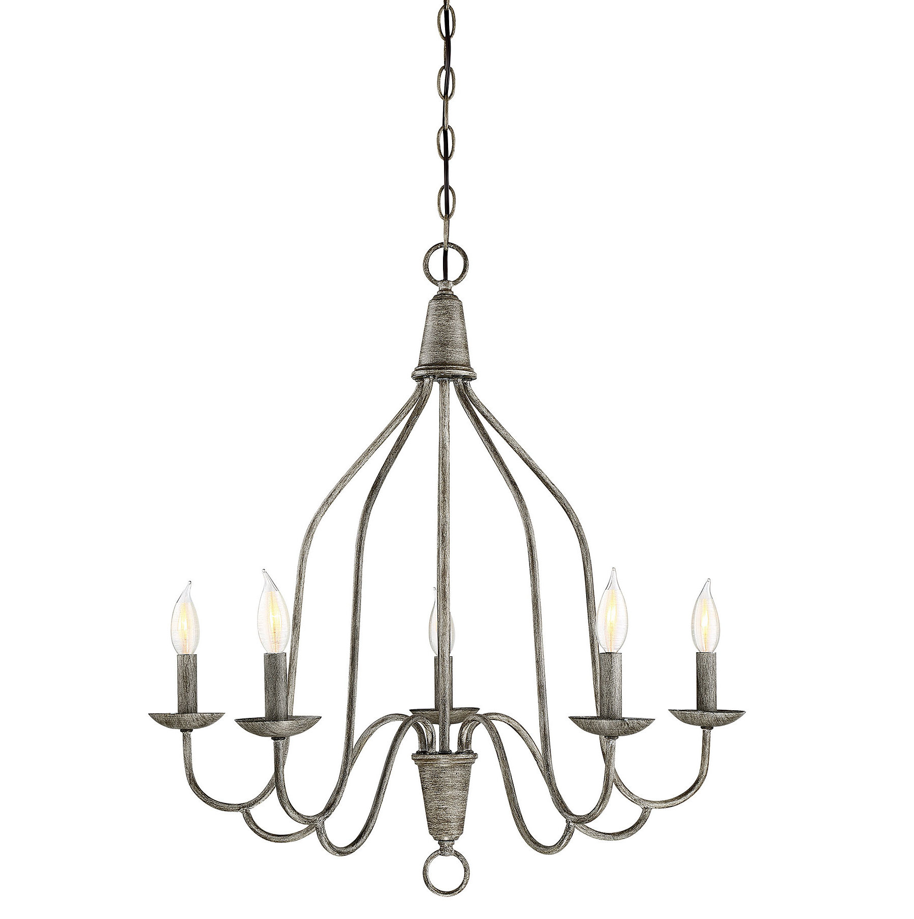 Geeta 5 Light Candle Style Chandelier Throughout Florentina 5 Light Candle Style Chandeliers (View 9 of 30)