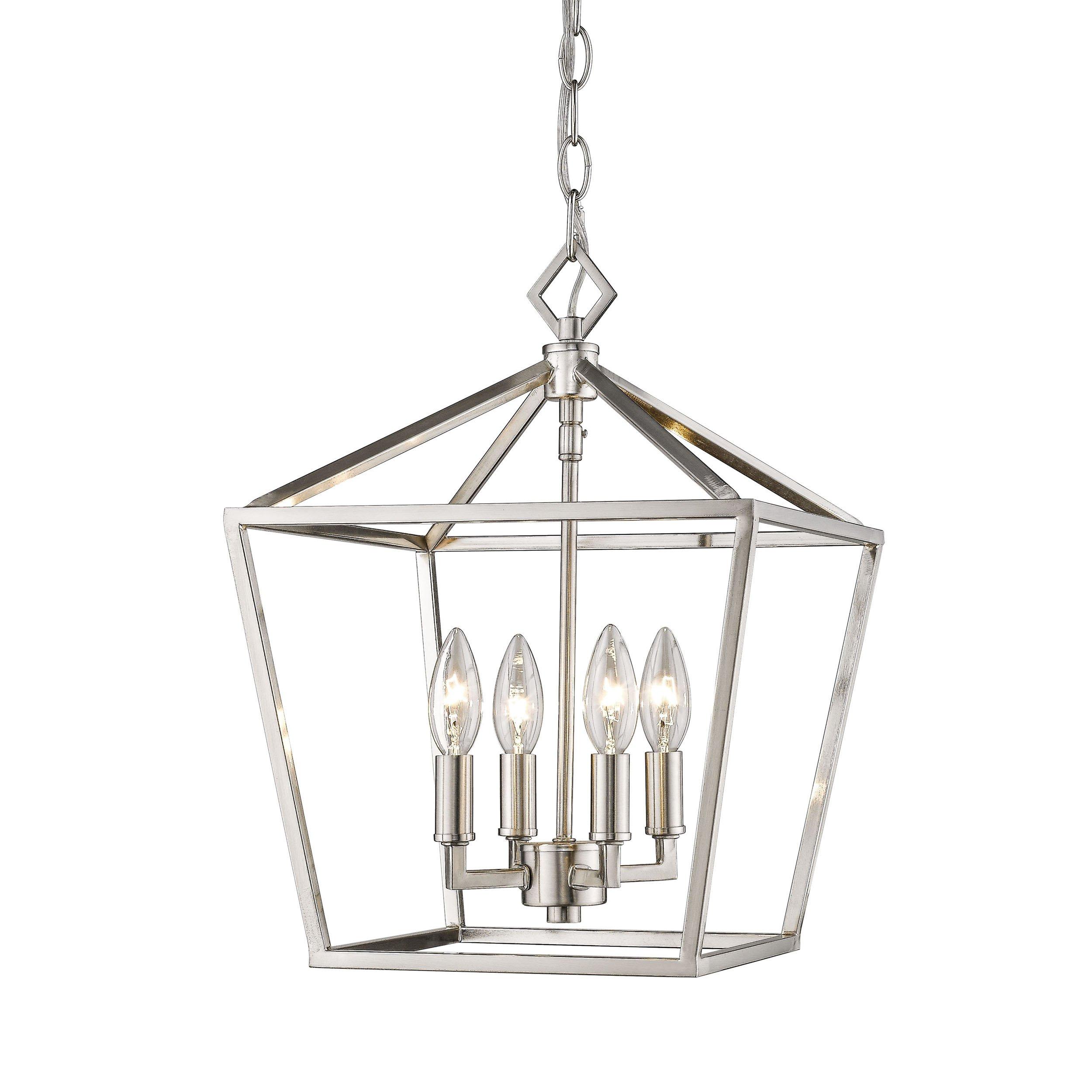 Geometric Cage Lantern | Kitchen Ideas | Lantern Pendant With Carmen 4 Light Lantern Geometric Pendants (View 17 of 30)