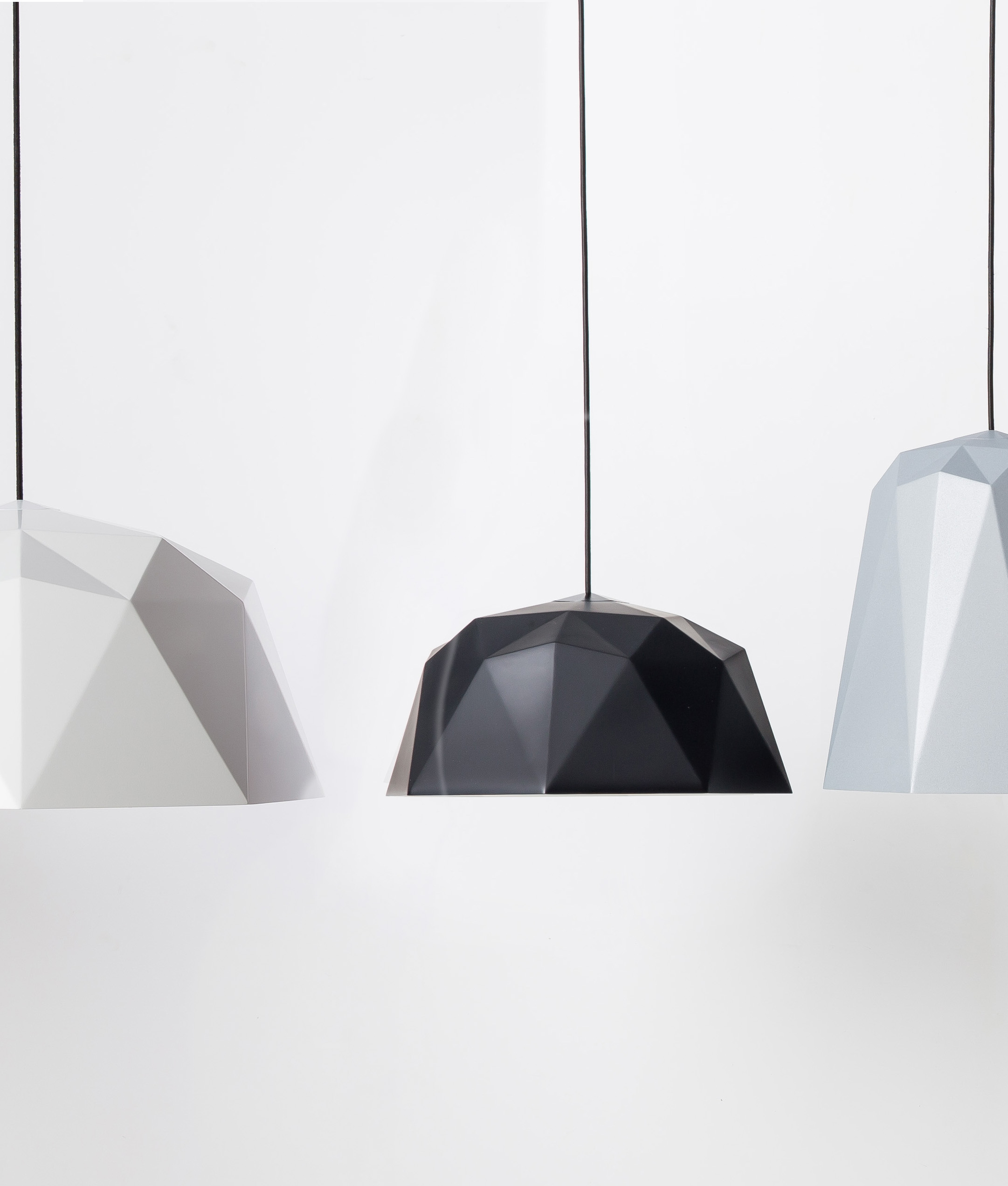Geometric Pendant Light Kyoto – Available In Four Colours Inside 1 Light Unique / Statement Geometric Pendants (View 18 of 30)