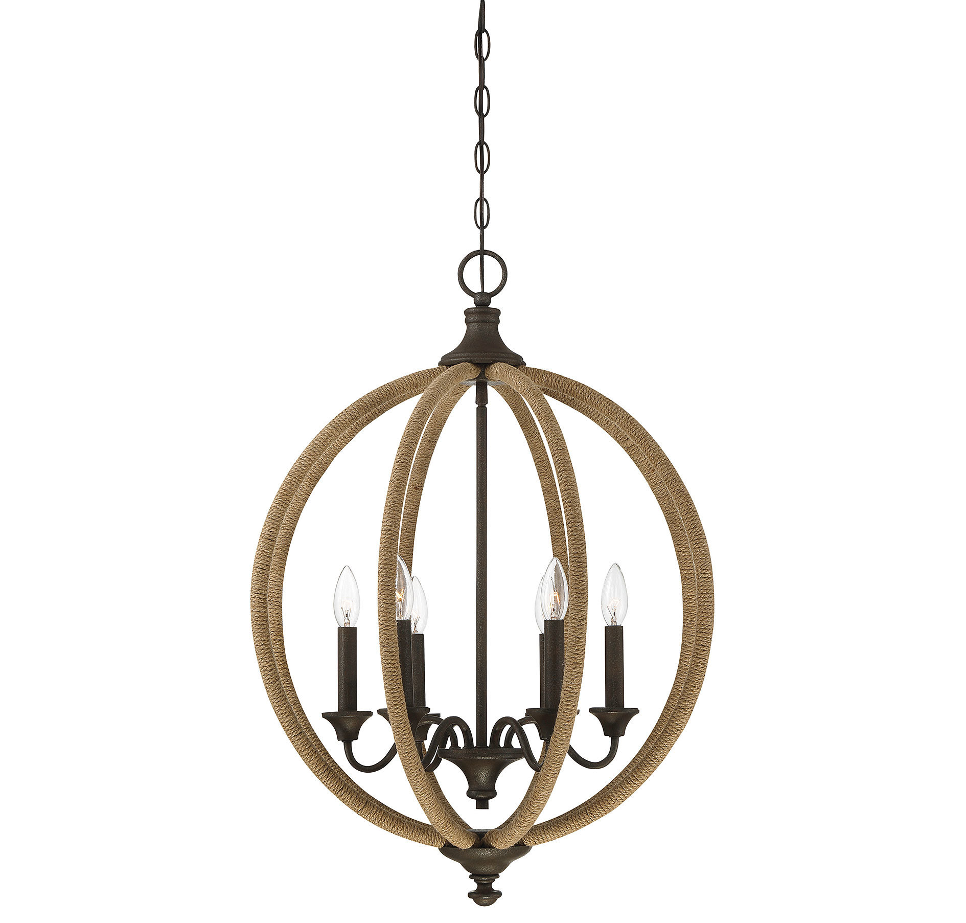 Georgianna 6-Light Globe Chandelier with regard to Joon 6-Light Globe Chandeliers (Image 7 of 30)