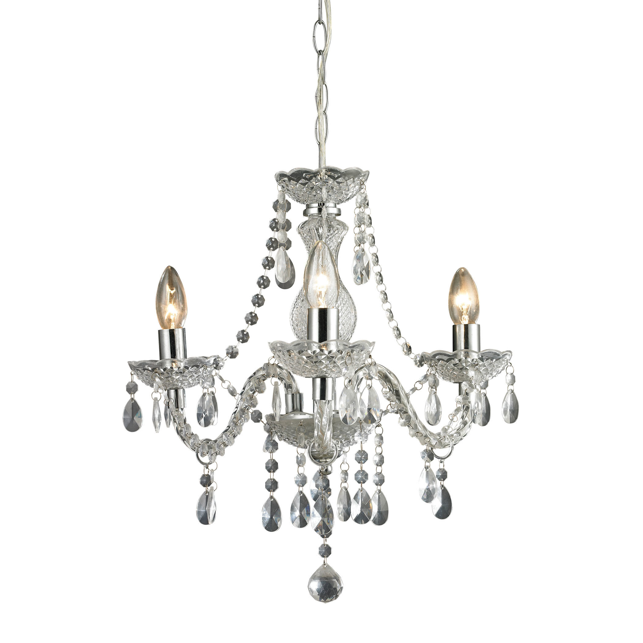 Gilson 3-Light Candle Style Chandelier with Aldora 4-Light Candle Style Chandeliers (Image 22 of 30)