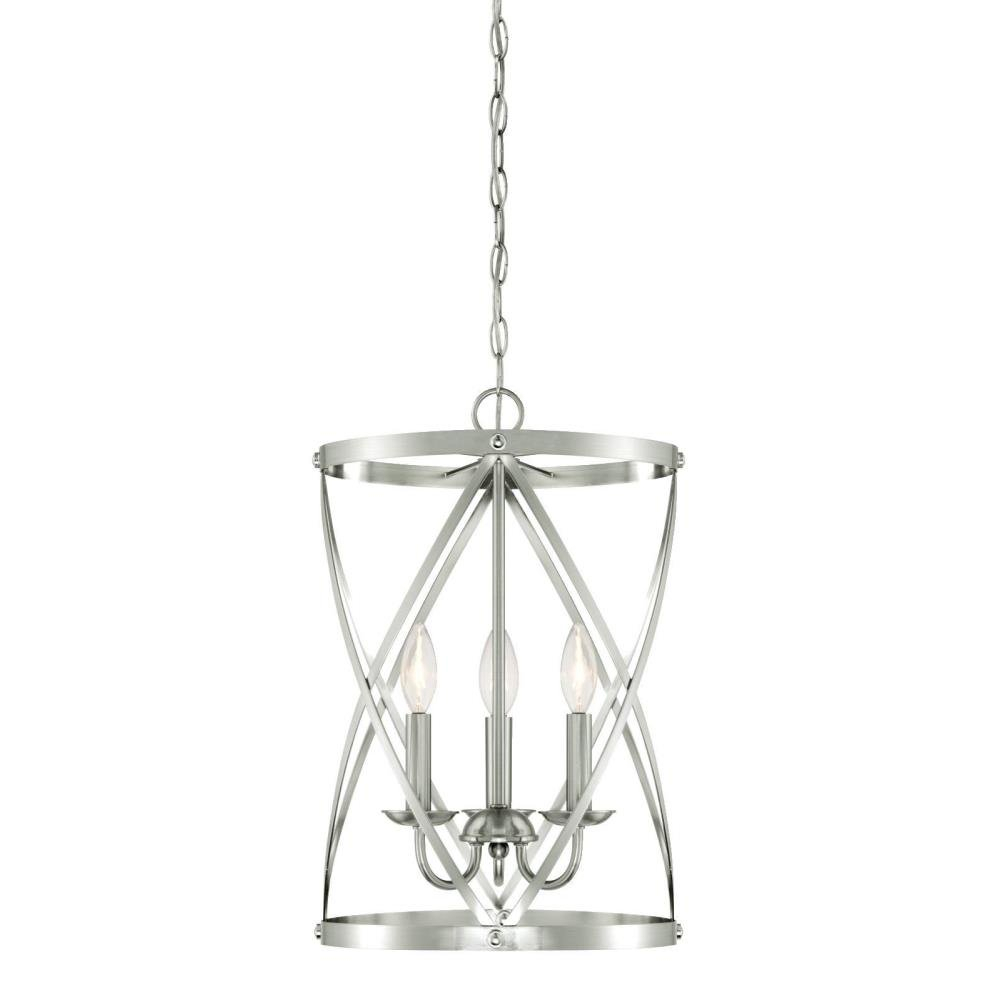 Gingerich 3 Light Lantern Pendant Pertaining To Van Horne 3 Light Single Teardrop Pendants (View 11 of 30)