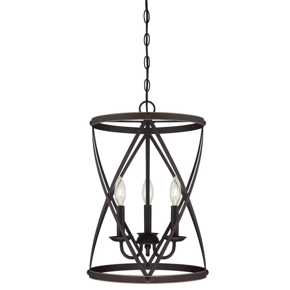Gingerich 3 Light Lantern Pendant Throughout Van Horne 3 Light Single Teardrop Pendants (View 14 of 30)