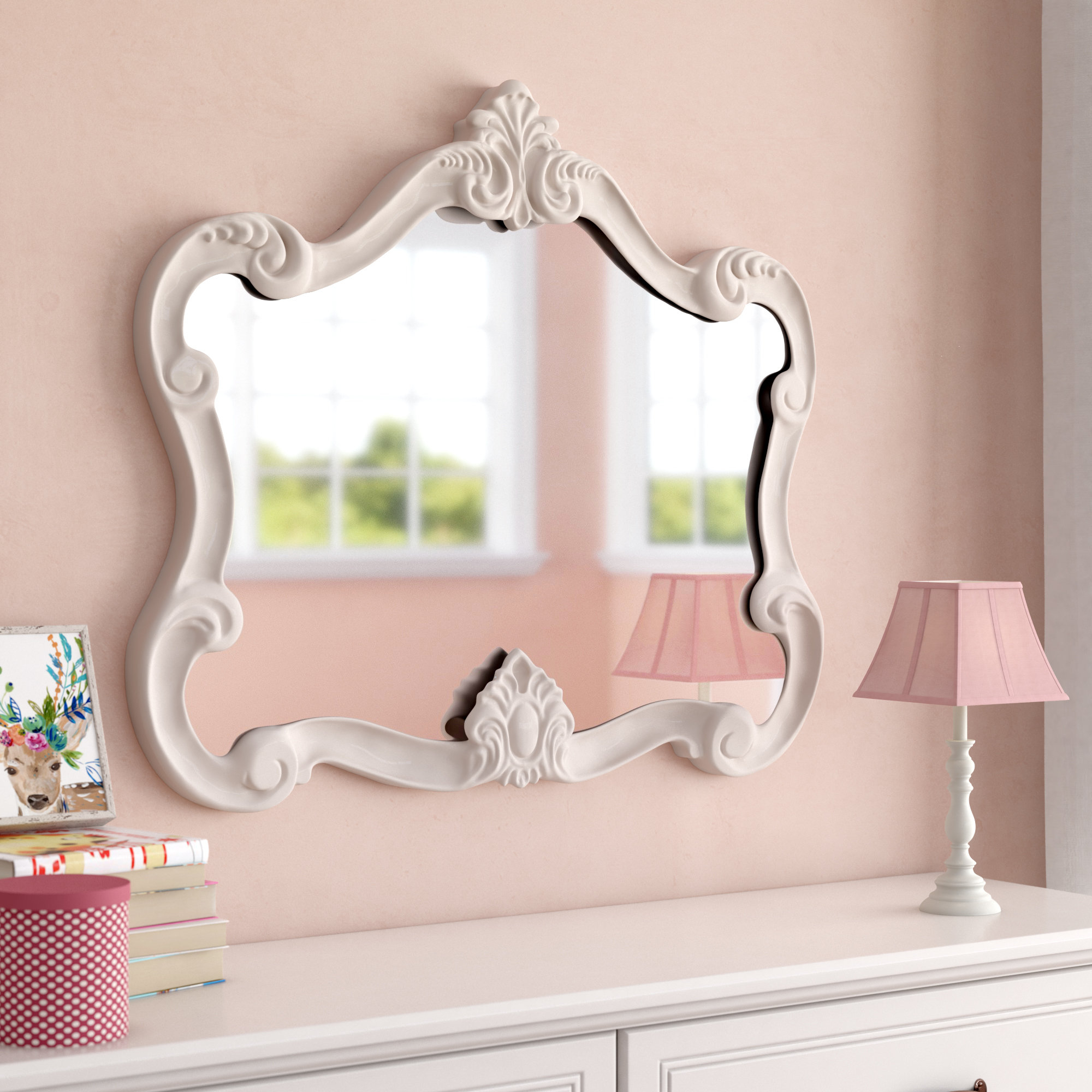 Gingerich Resin Modern & Contemporary Accent Mirror Inside Guidinha Modern & Contemporary Accent Mirrors (View 9 of 30)