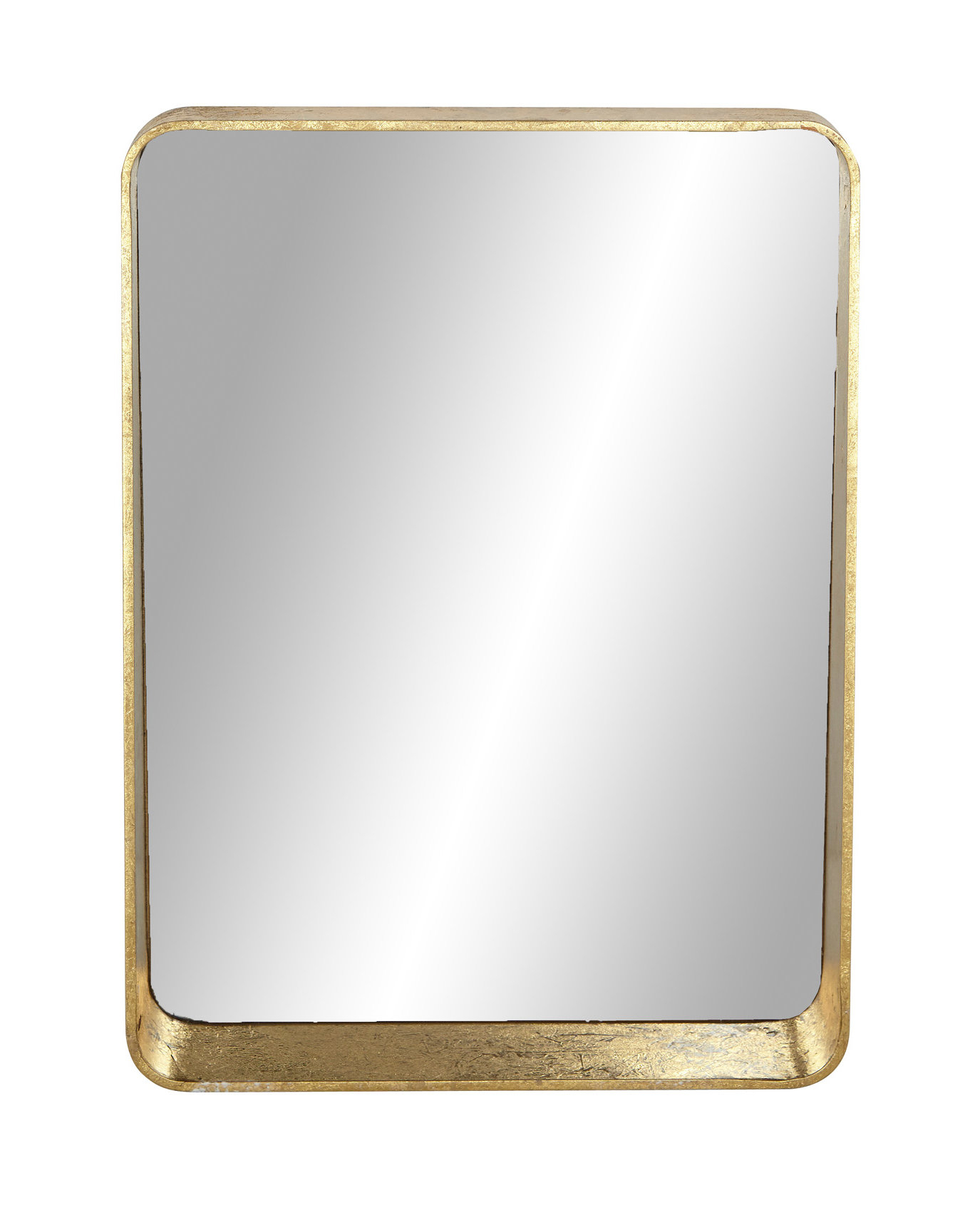 Ginyard Modern And Contemporary Accent Mirror With Peetz Modern Rustic Accent Mirrors (Image 14 of 30)